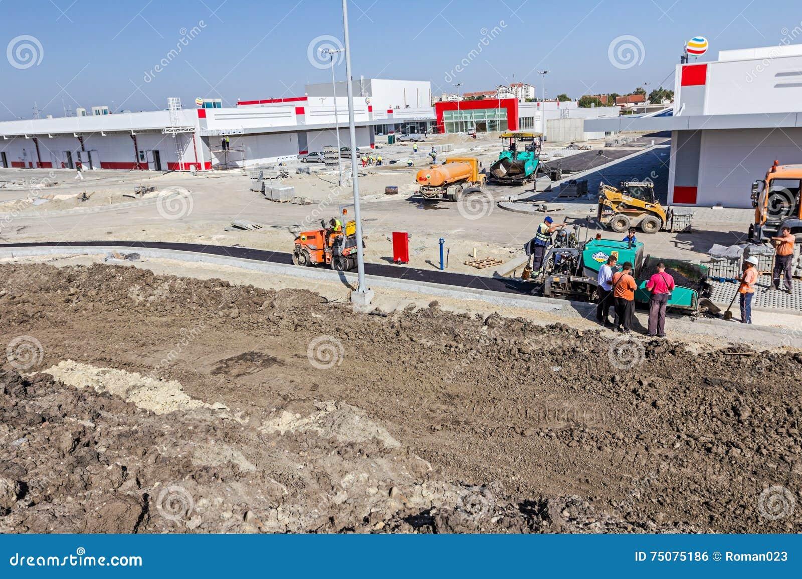 道路施工 沥青分布器