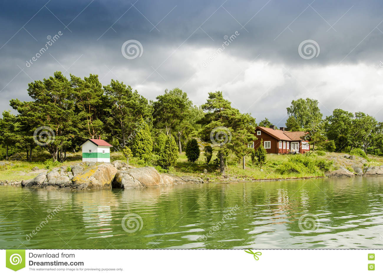 避暑别墅Sodermanland群岛瑞典