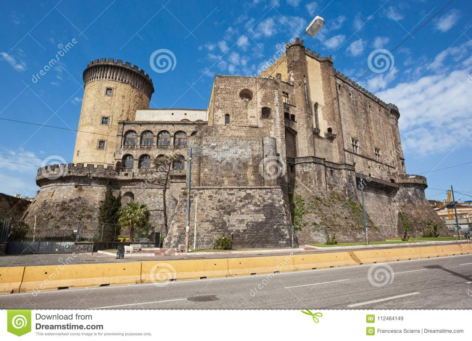那不勒斯Castel Nuovo Maschio Angioino