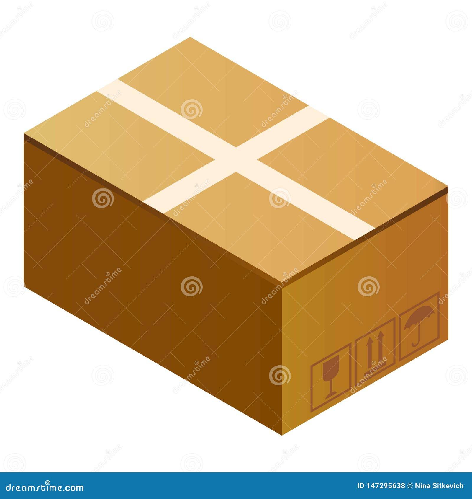 邮政小包箱子象,等量样式
