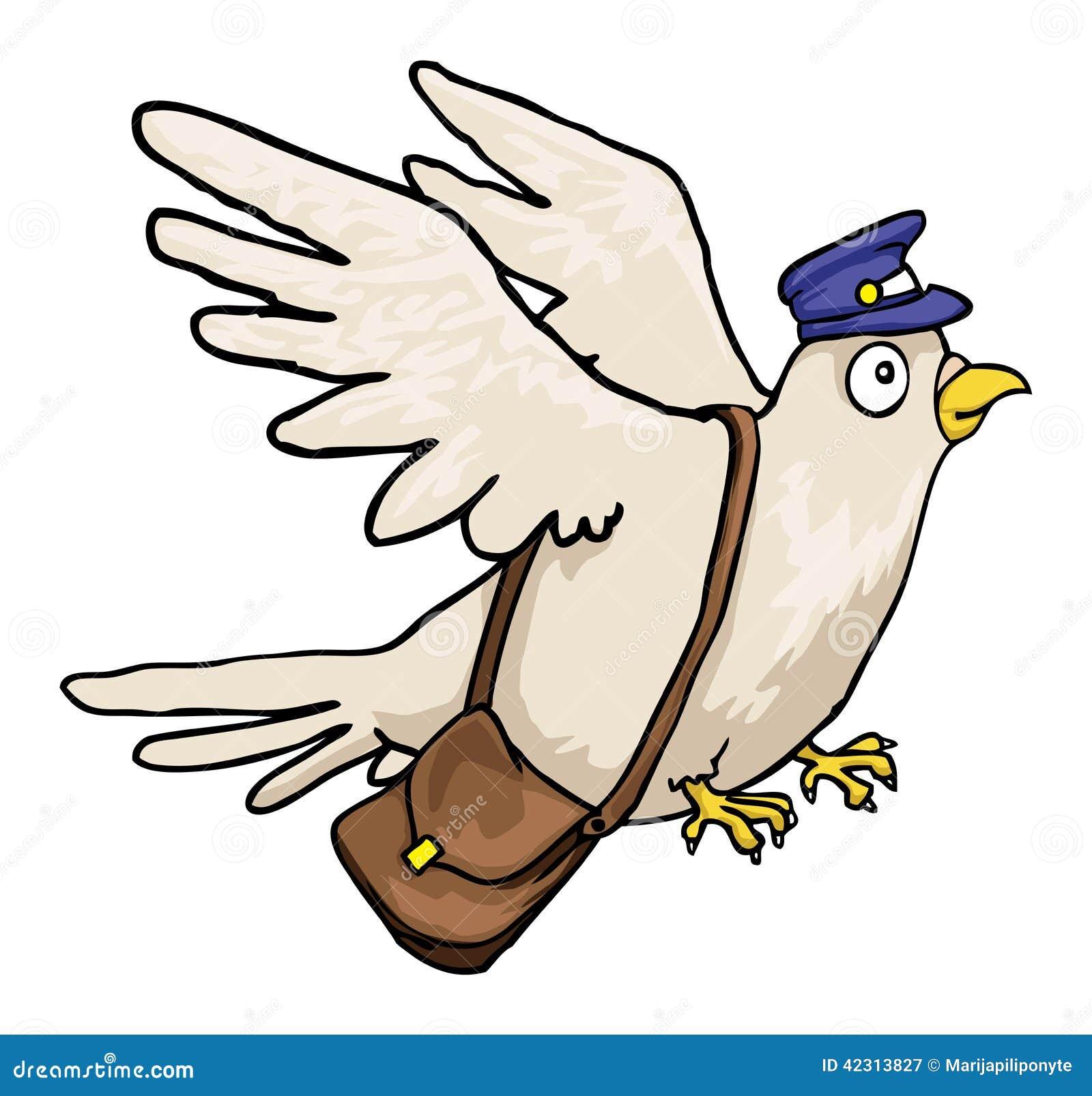 邮件鸽子图片