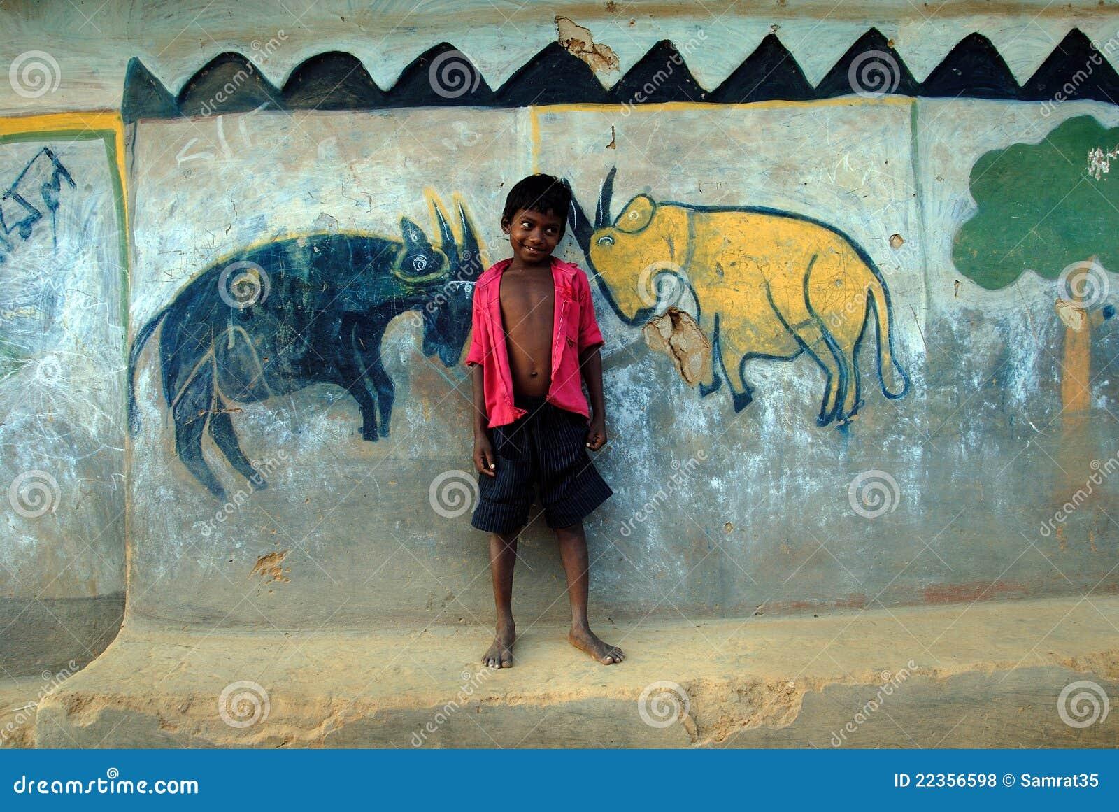 部族印度的绘画