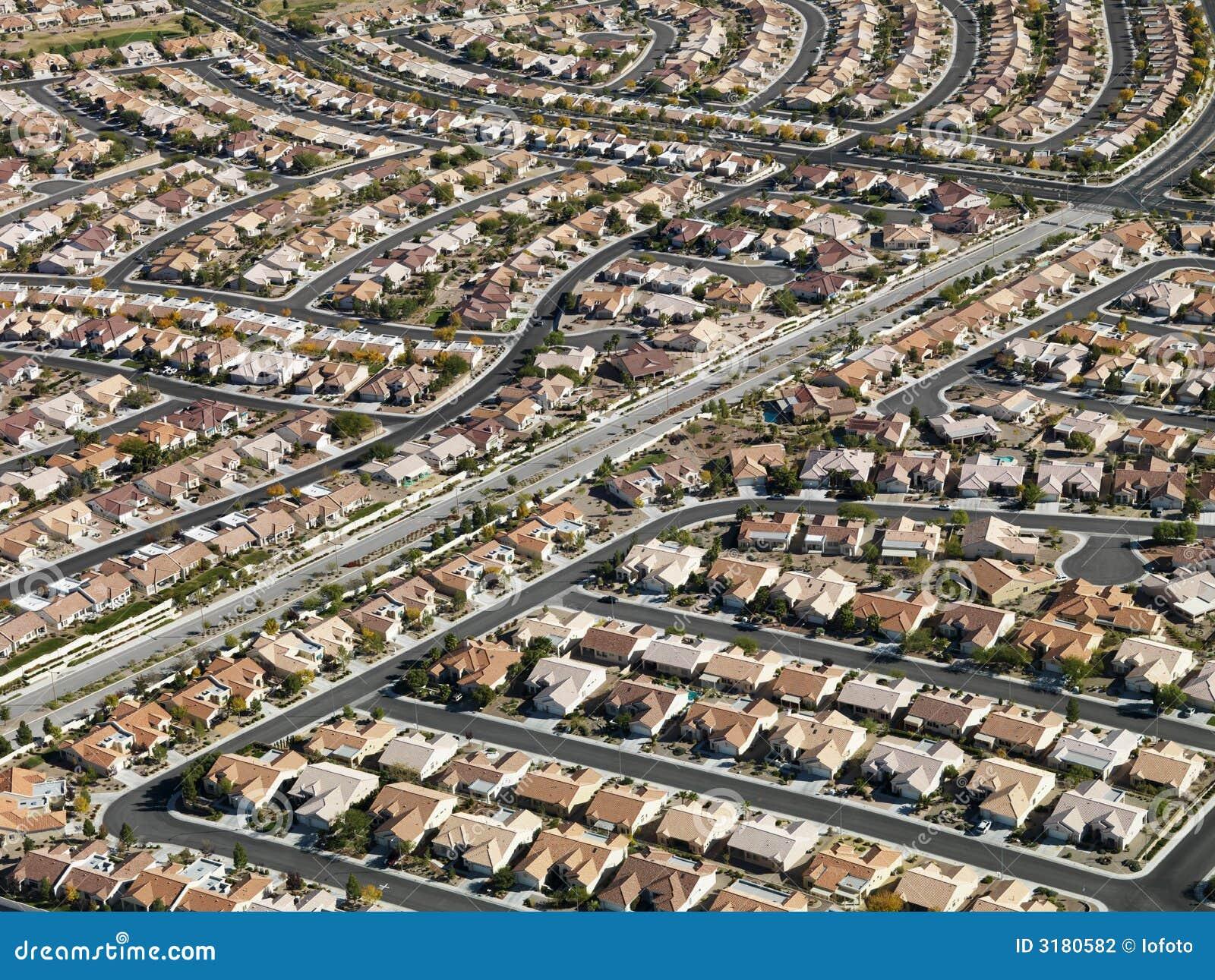 都市住房的匍匐