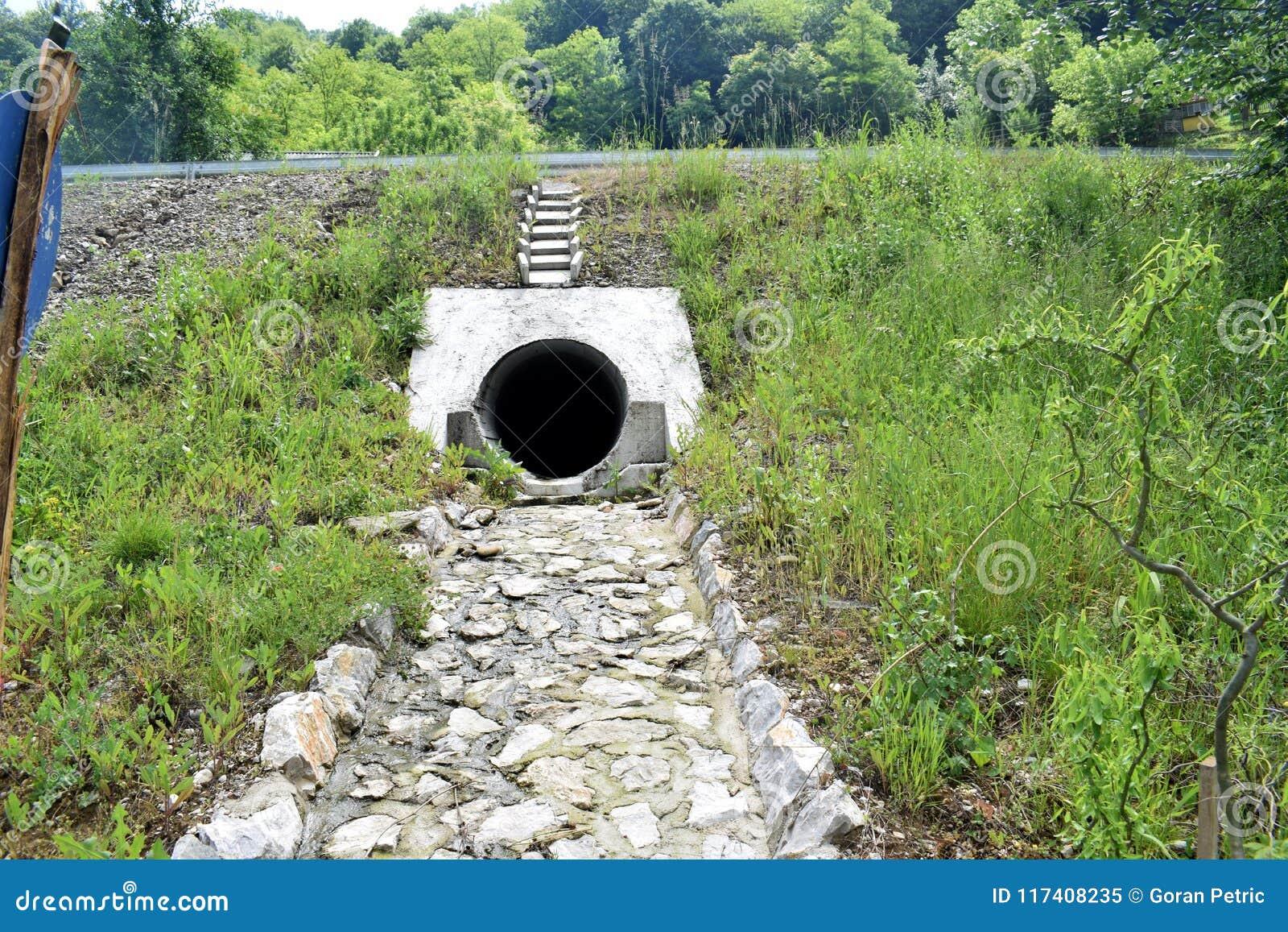 都市污水孔,都市污水管子