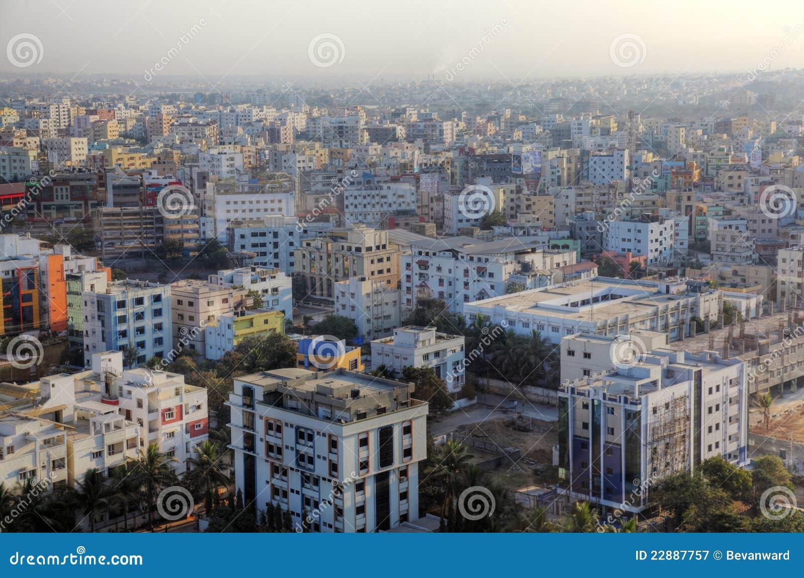 都市风景海得拉巴
