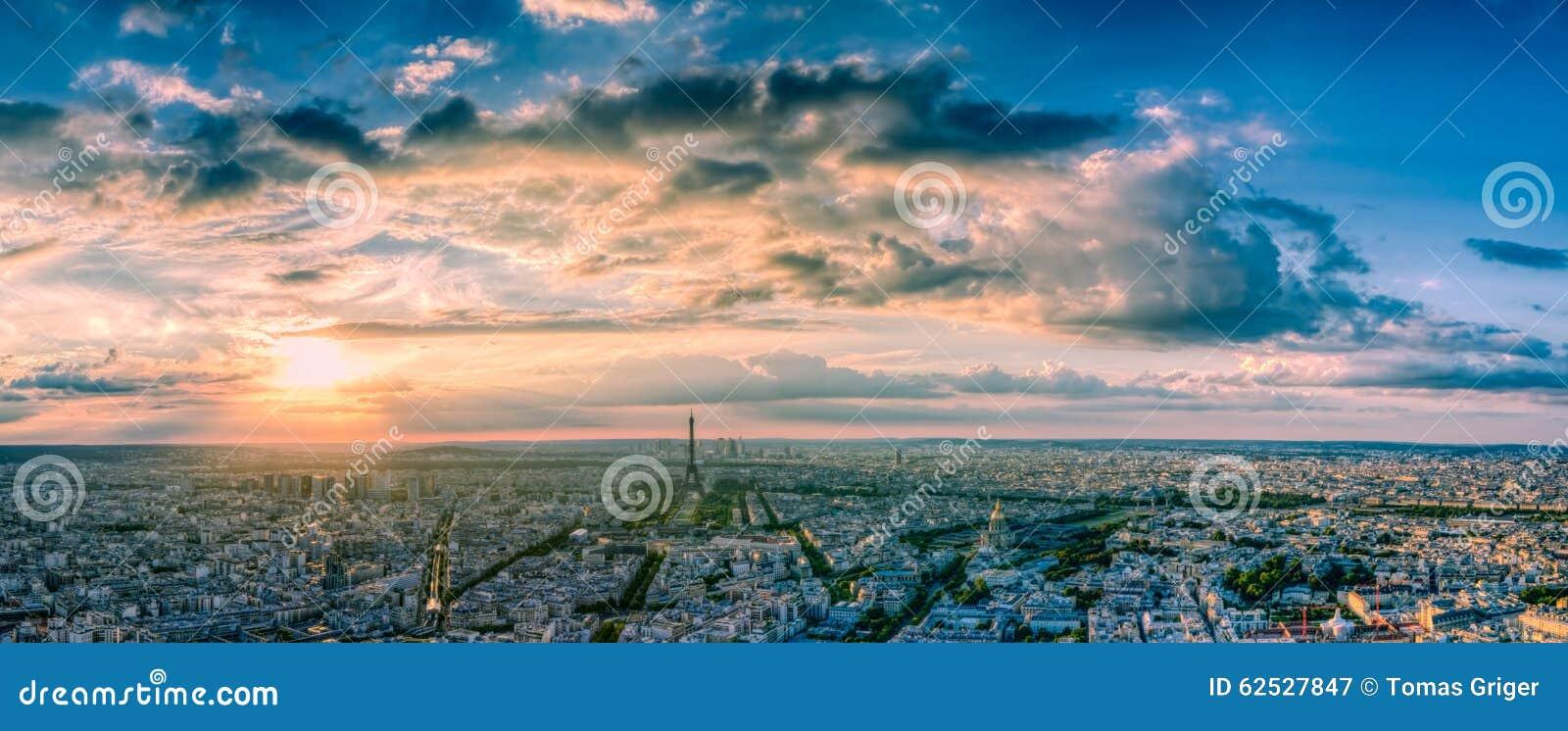 都市风景巴黎