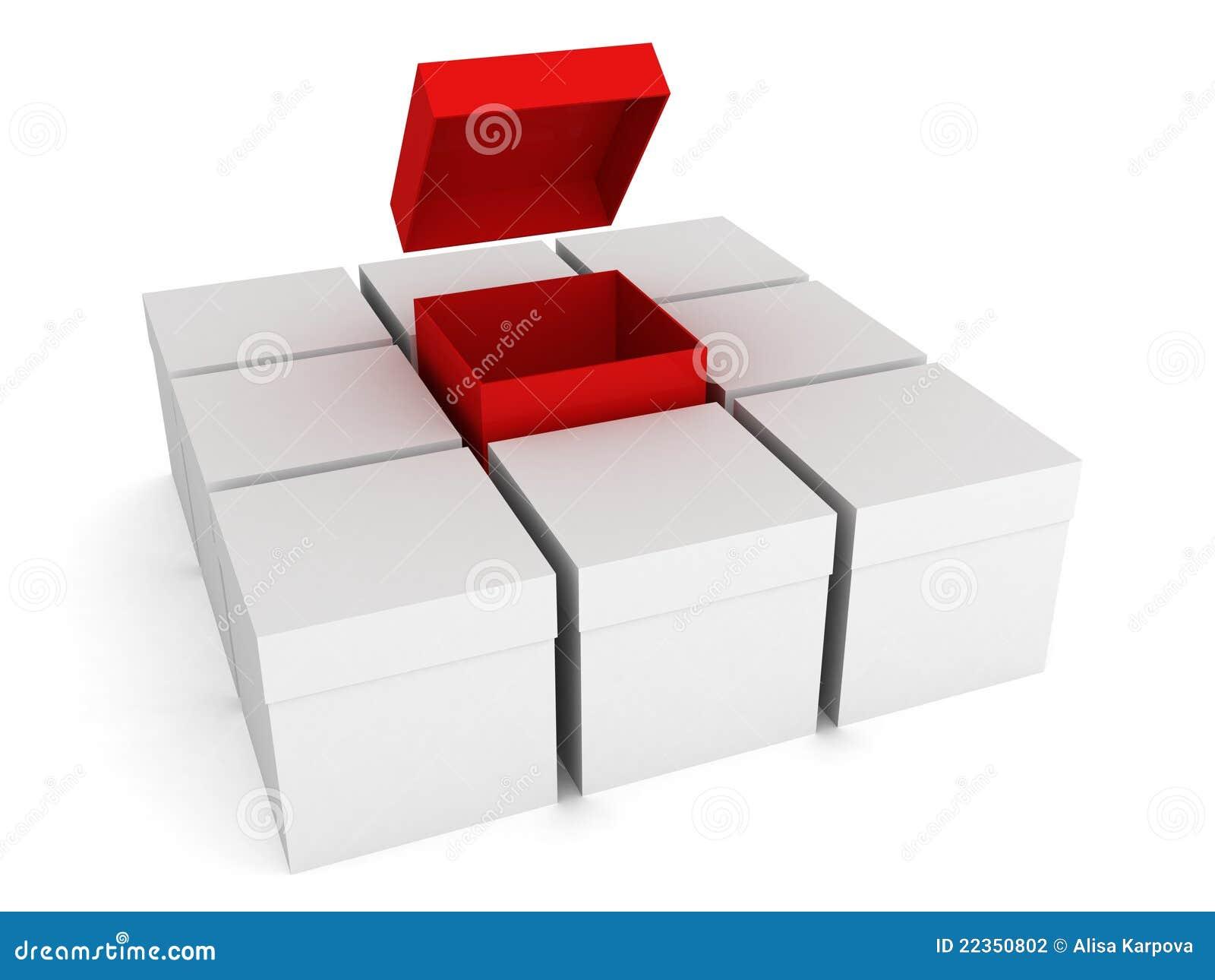 配件箱开张了其他红色白色