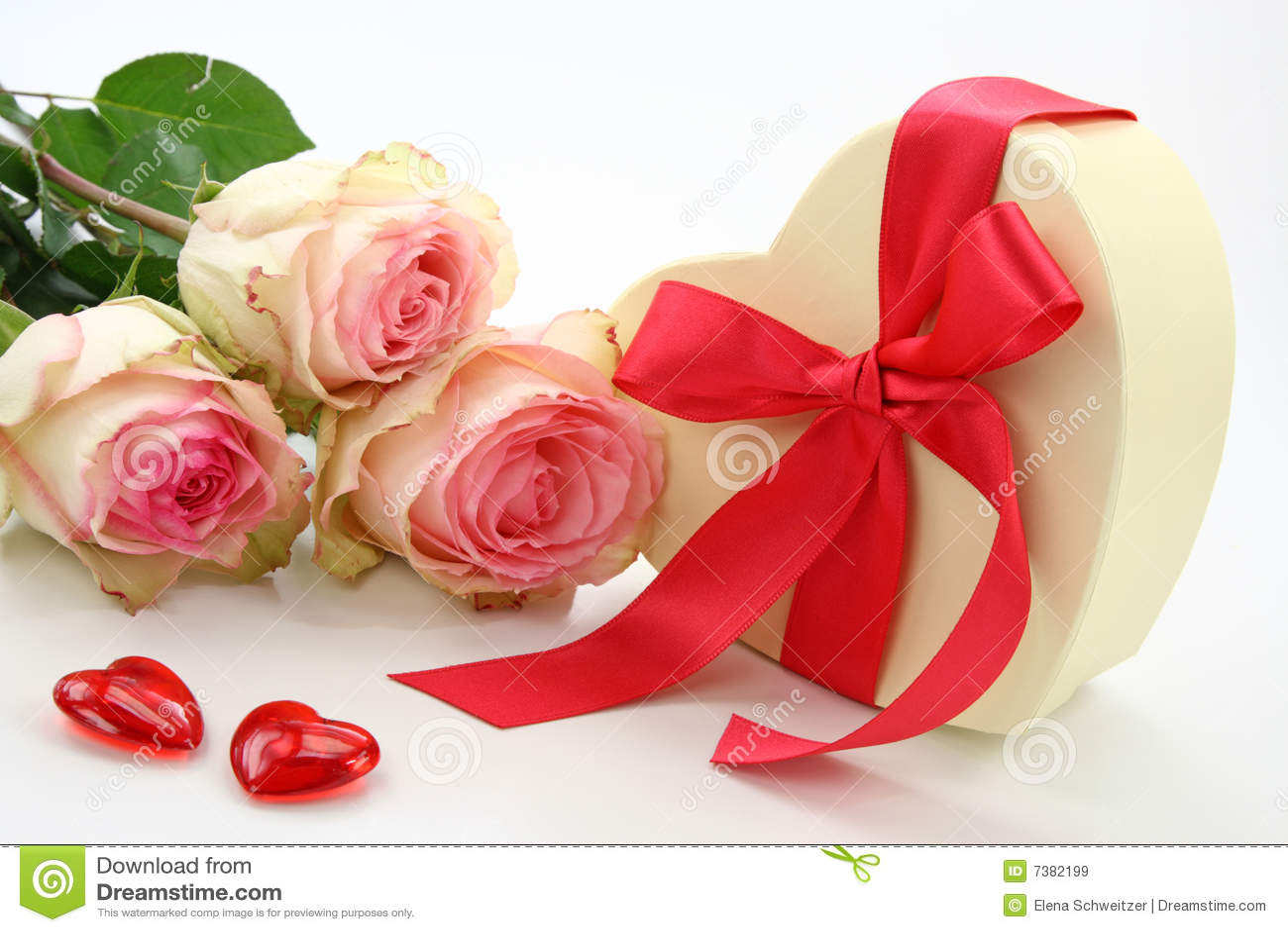 配件箱礼品玫瑰