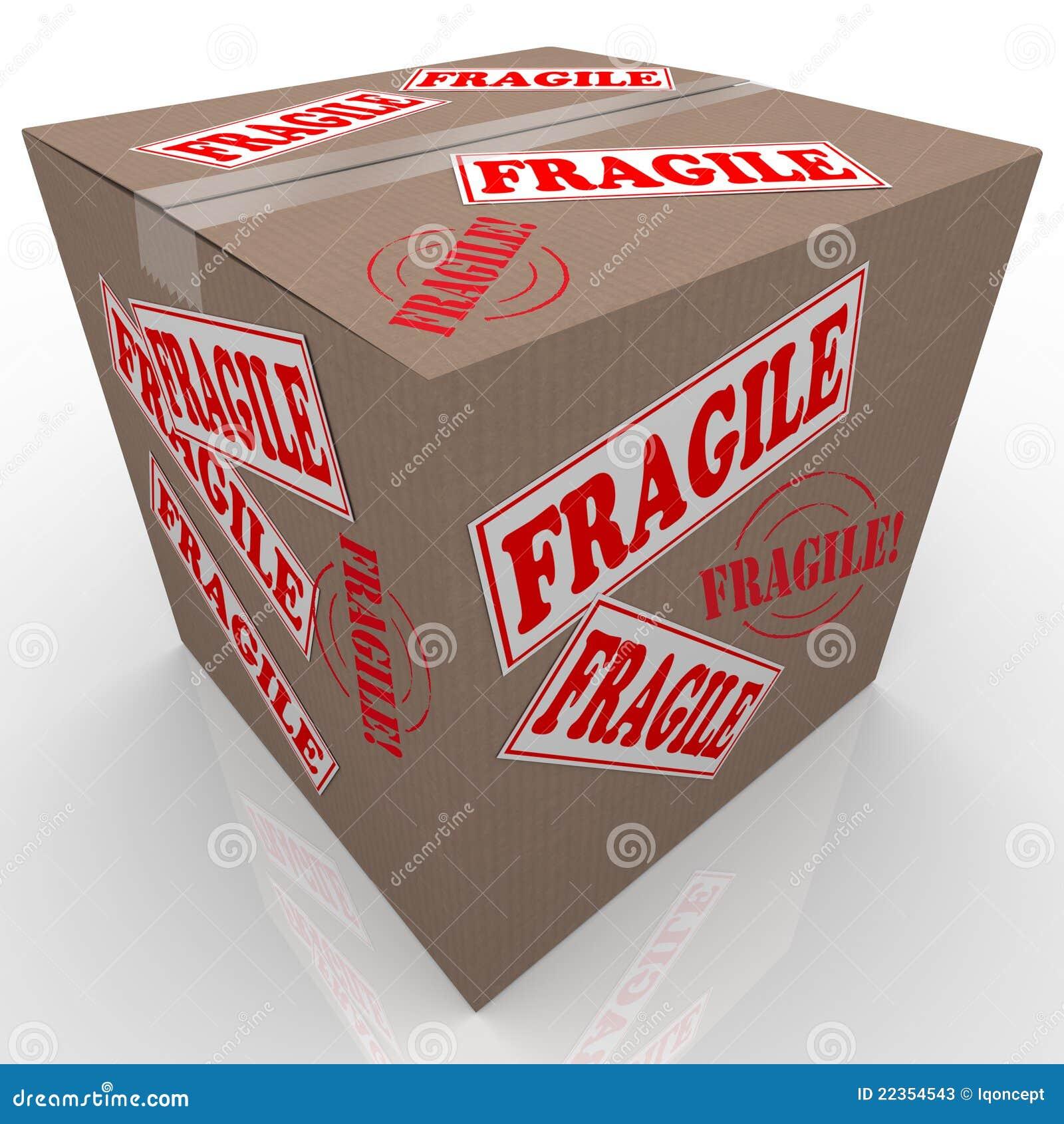 配件箱纸板脆弱的程序包发运