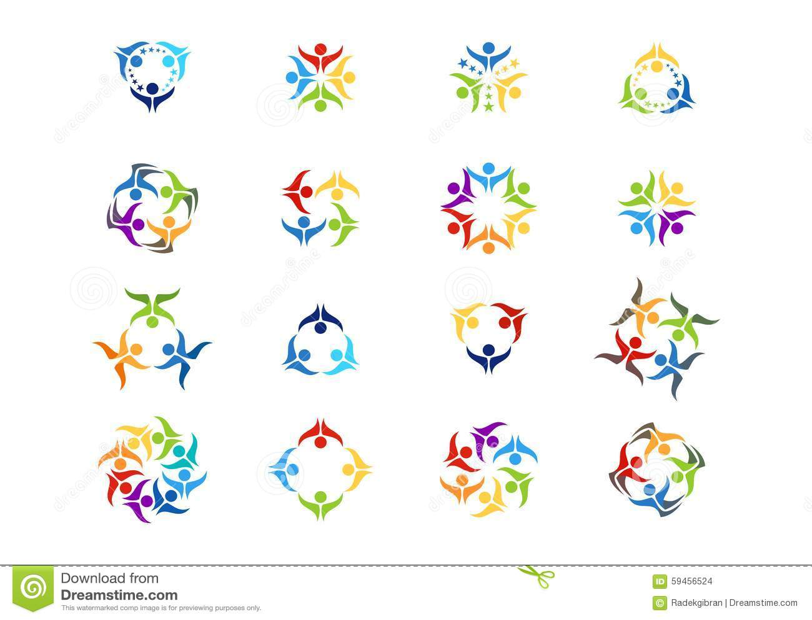 配合,商标,社会队工作教育,例证,现代,网络,略写法集合传染媒介设计