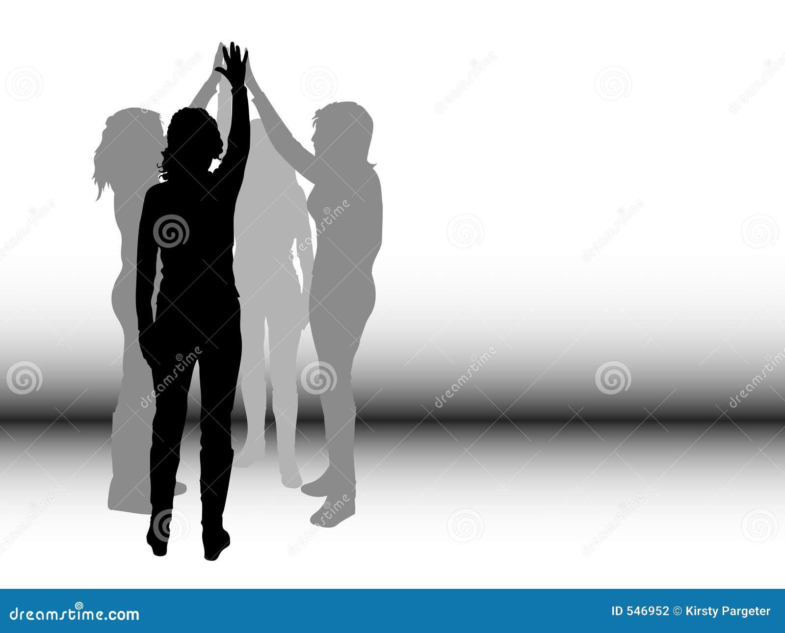 Download 配合 向量例证. 插画 包括有 例证, 人群, 人们, 艺术, 性感, 小组, 配合, 减速火箭, 背包, 剪影 - 546952