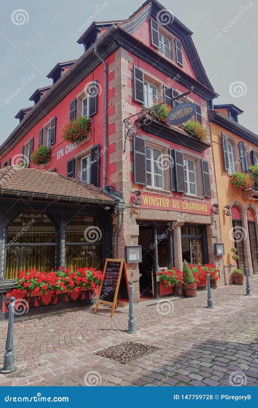 酒店&大别墅旅馆Chambard外视图在凯塞尔斯贝尔