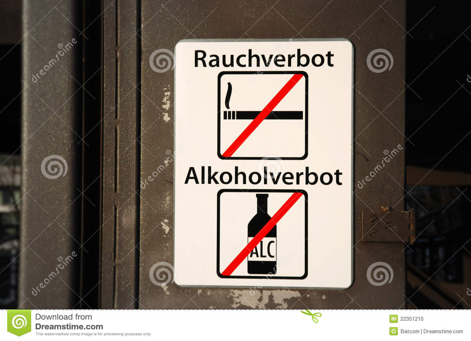 酒精禁令符号抽烟