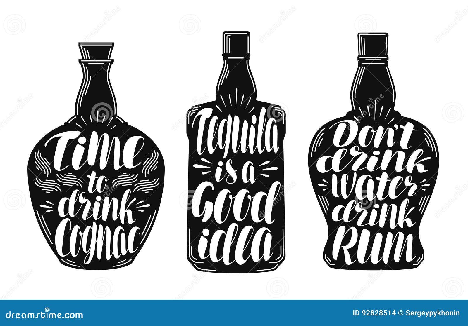 酒精饮料,烈性饮料标号组 瓶、兰姆酒、科涅克白兰地、龙舌兰酒象或者商标 字法,书法传染媒介