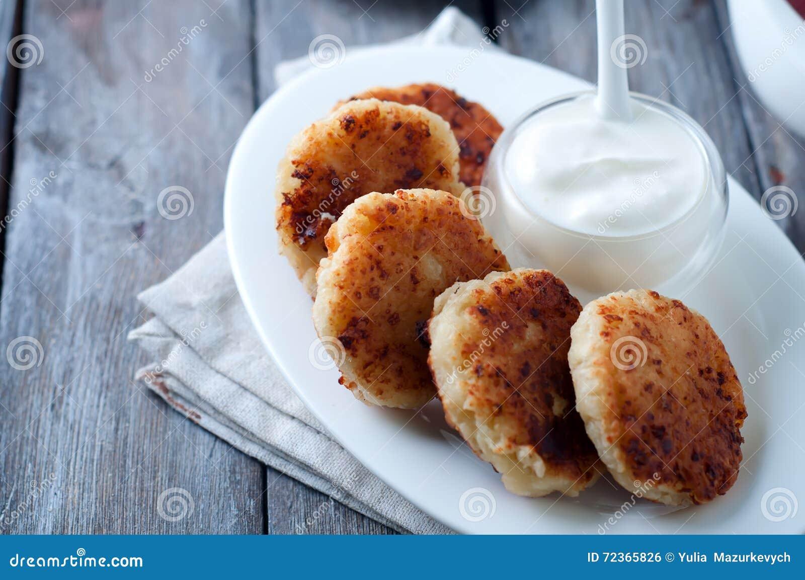 酸奶干酪薄煎饼