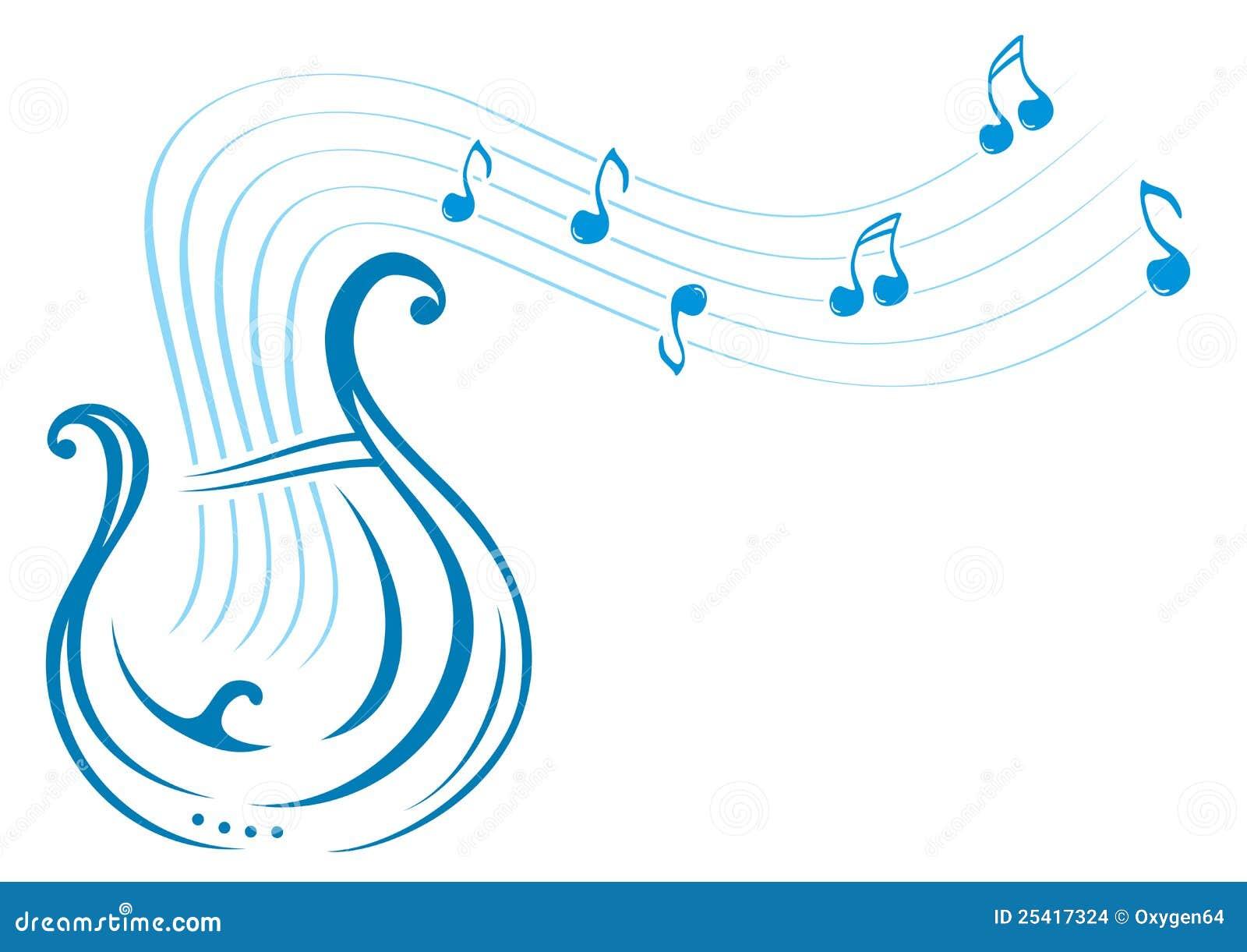 里拉琴音乐图片