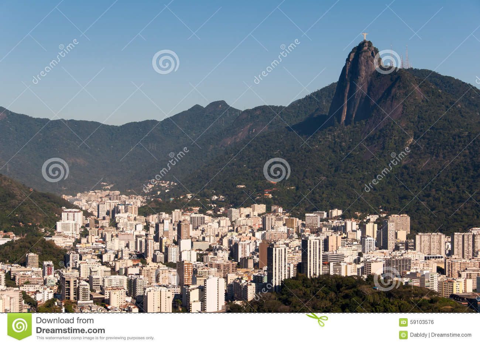 里约热内卢和Corcovado山