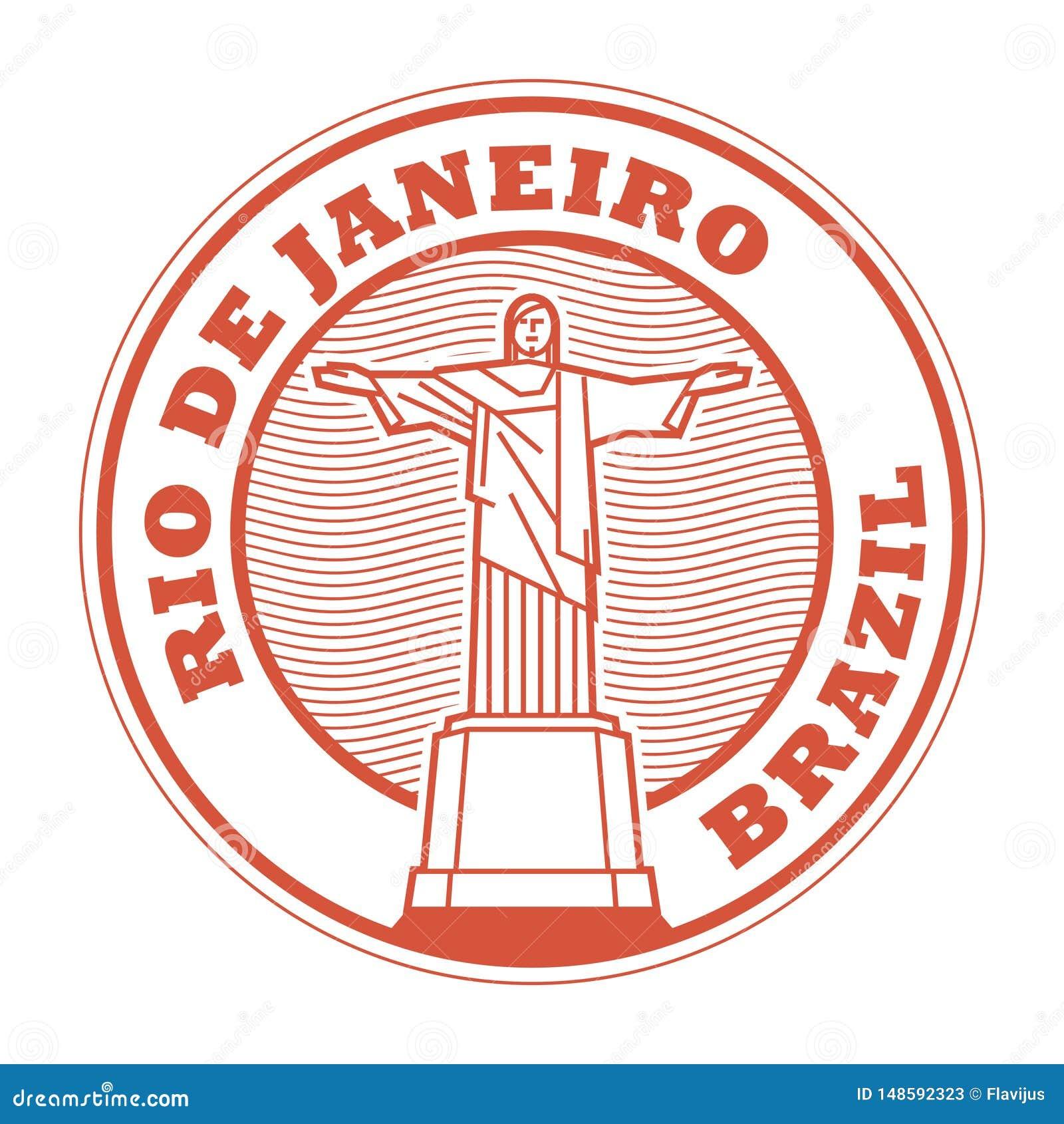 里约de Jeneiro,巴西邮票