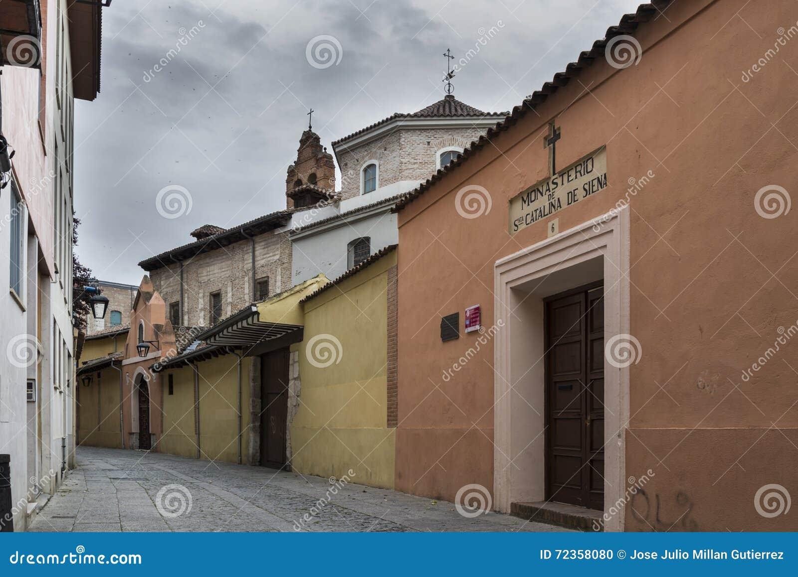 巴里阿多里德西班牙历史街道