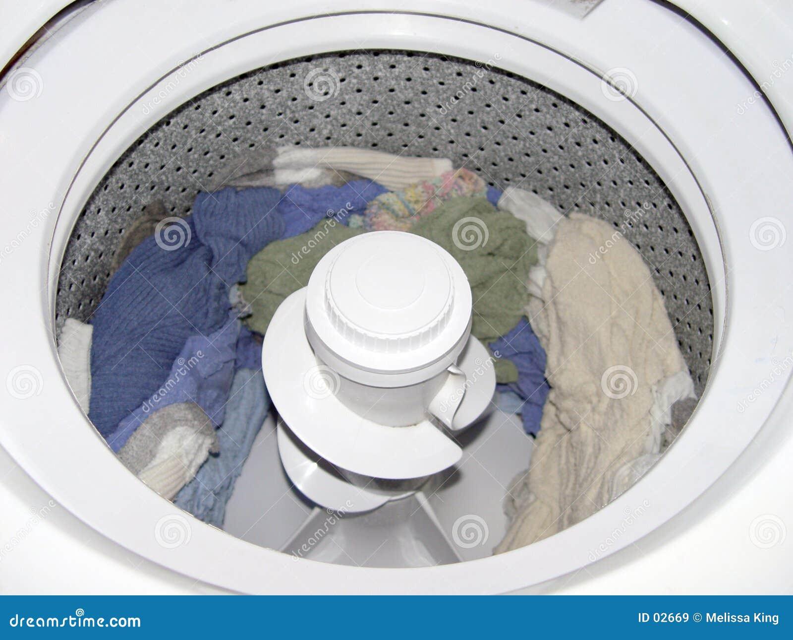 里面洗衣机