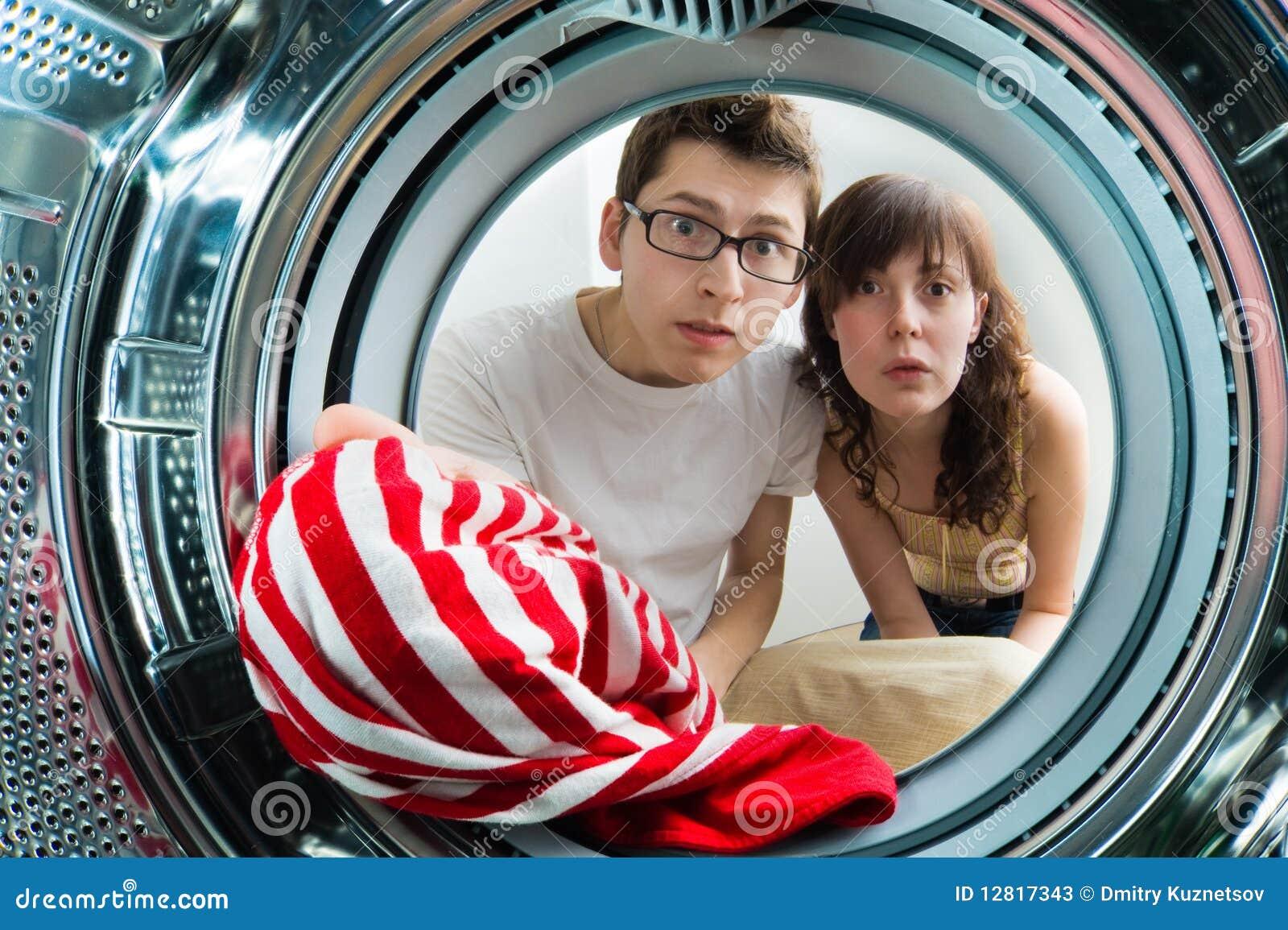 里面设备视图洗涤物