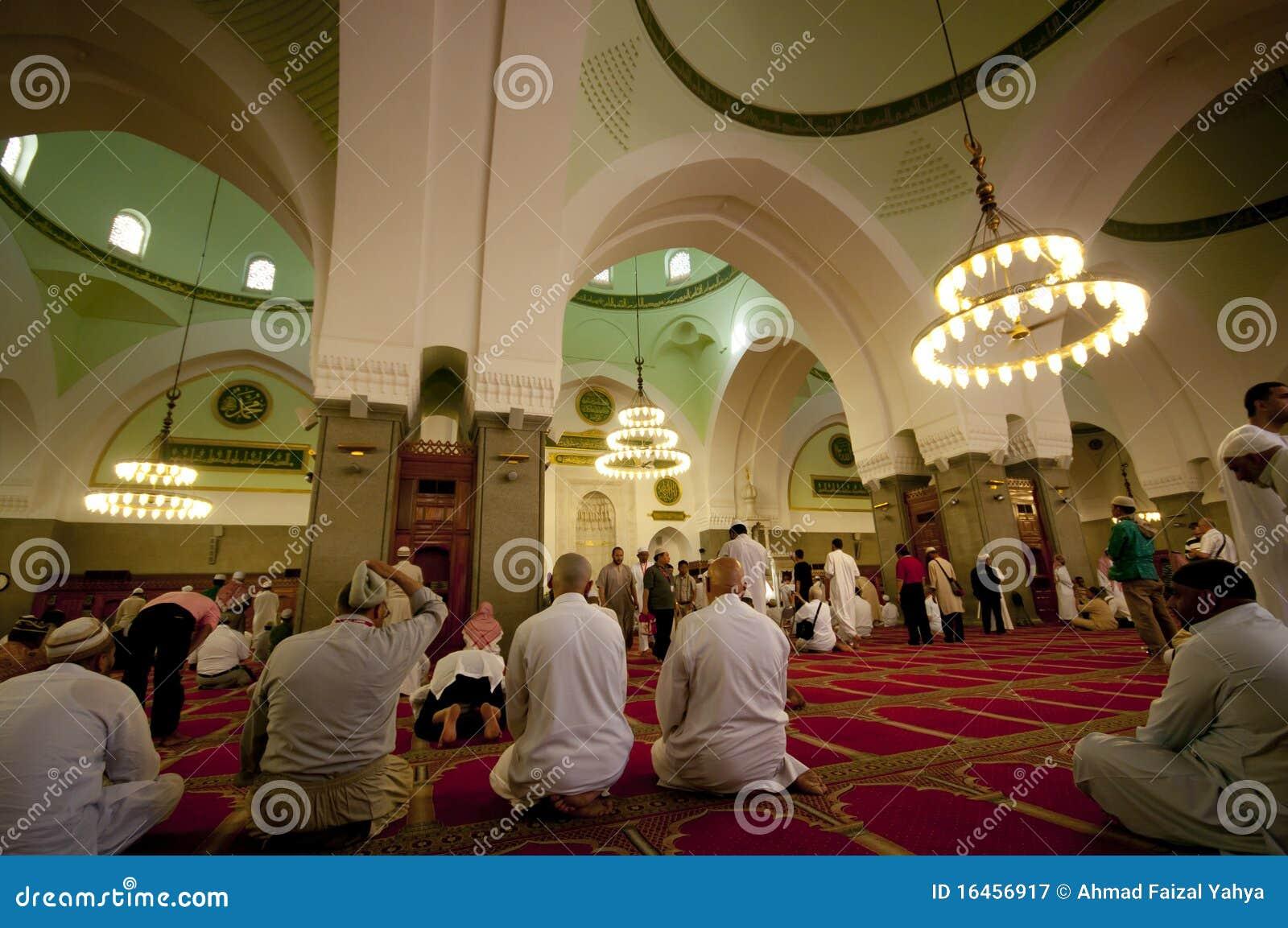 里面masjid穆斯林祈祷quba