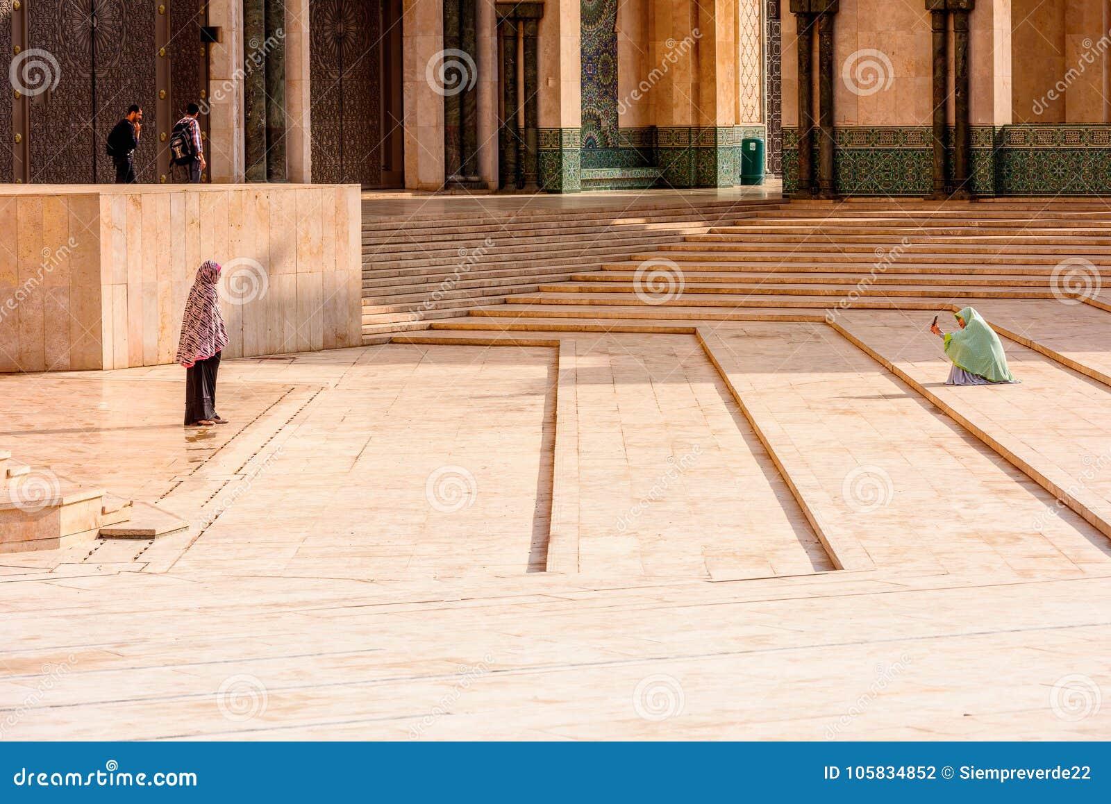 重创的Mosquee哈桑二世