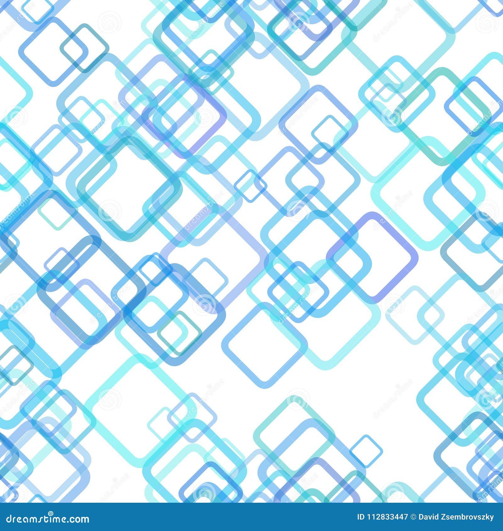 重复几何方形的背景样式-从任意对角正方形的向量图形设计与不透明作用