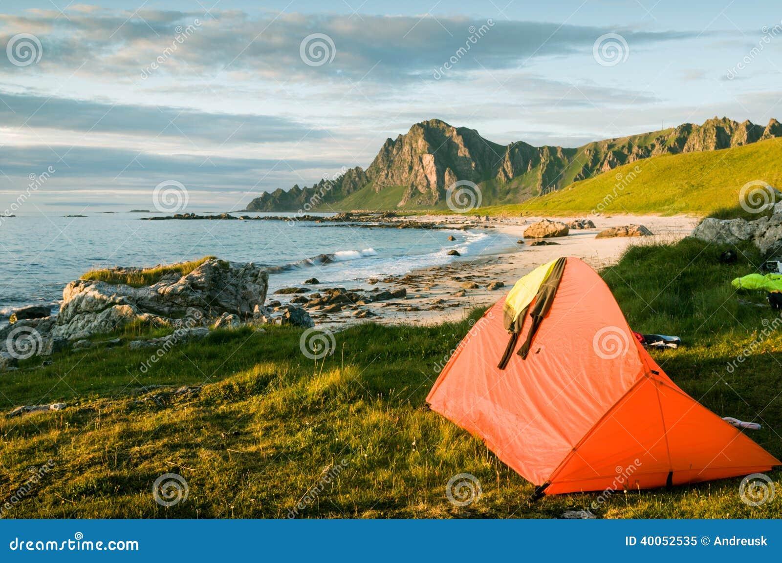 野营在挪威