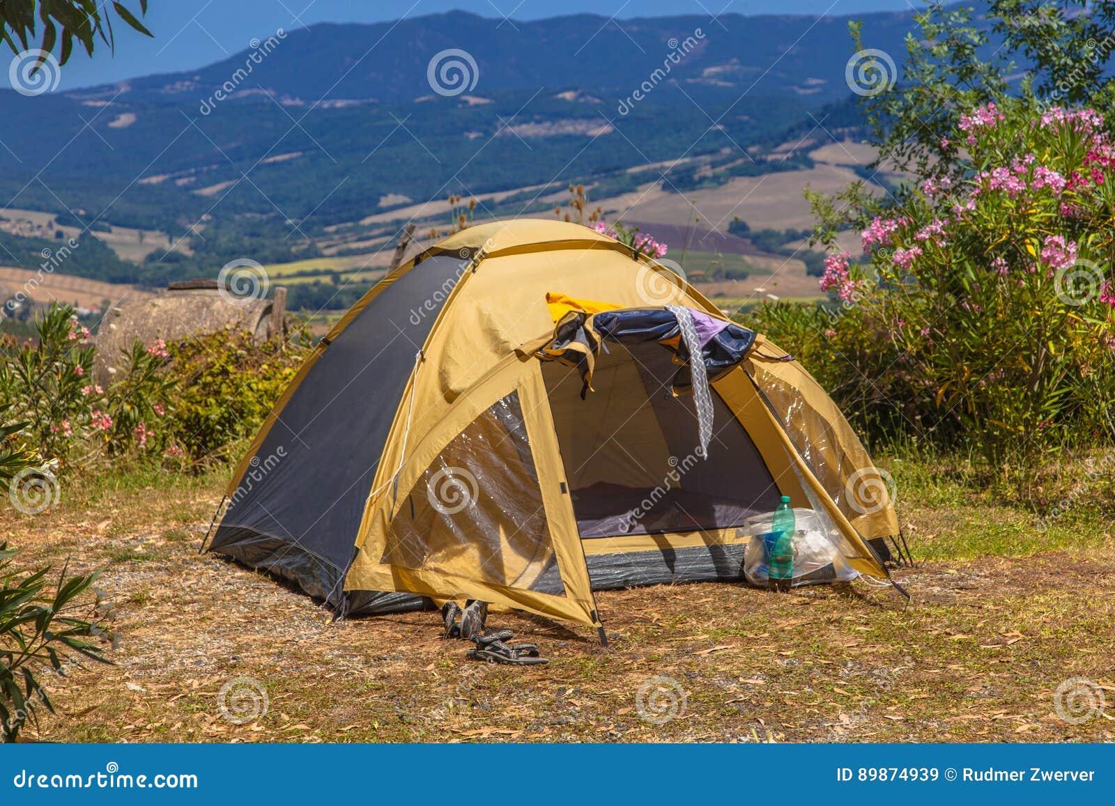 野营的地方谷