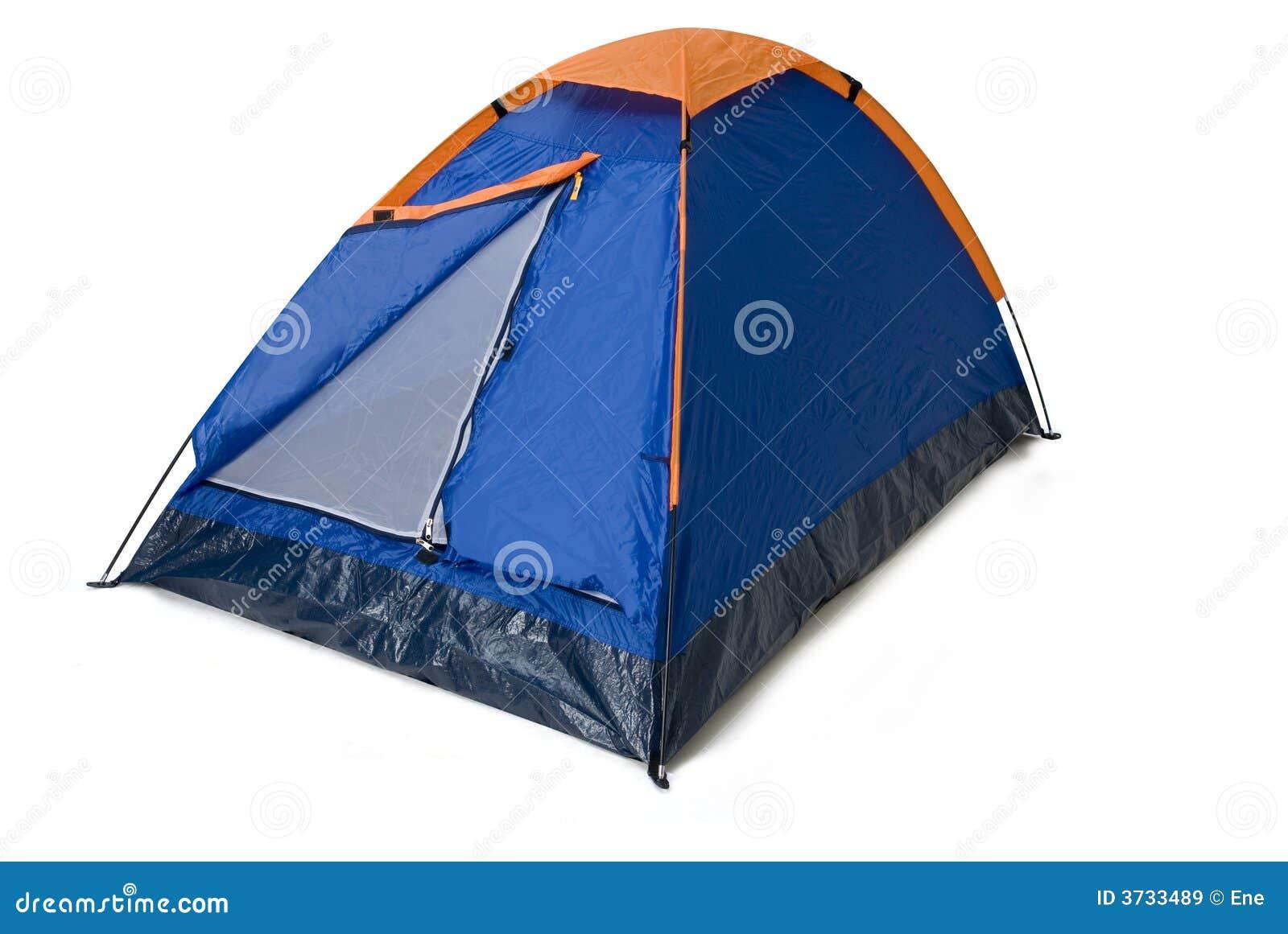 野营的帐篷
