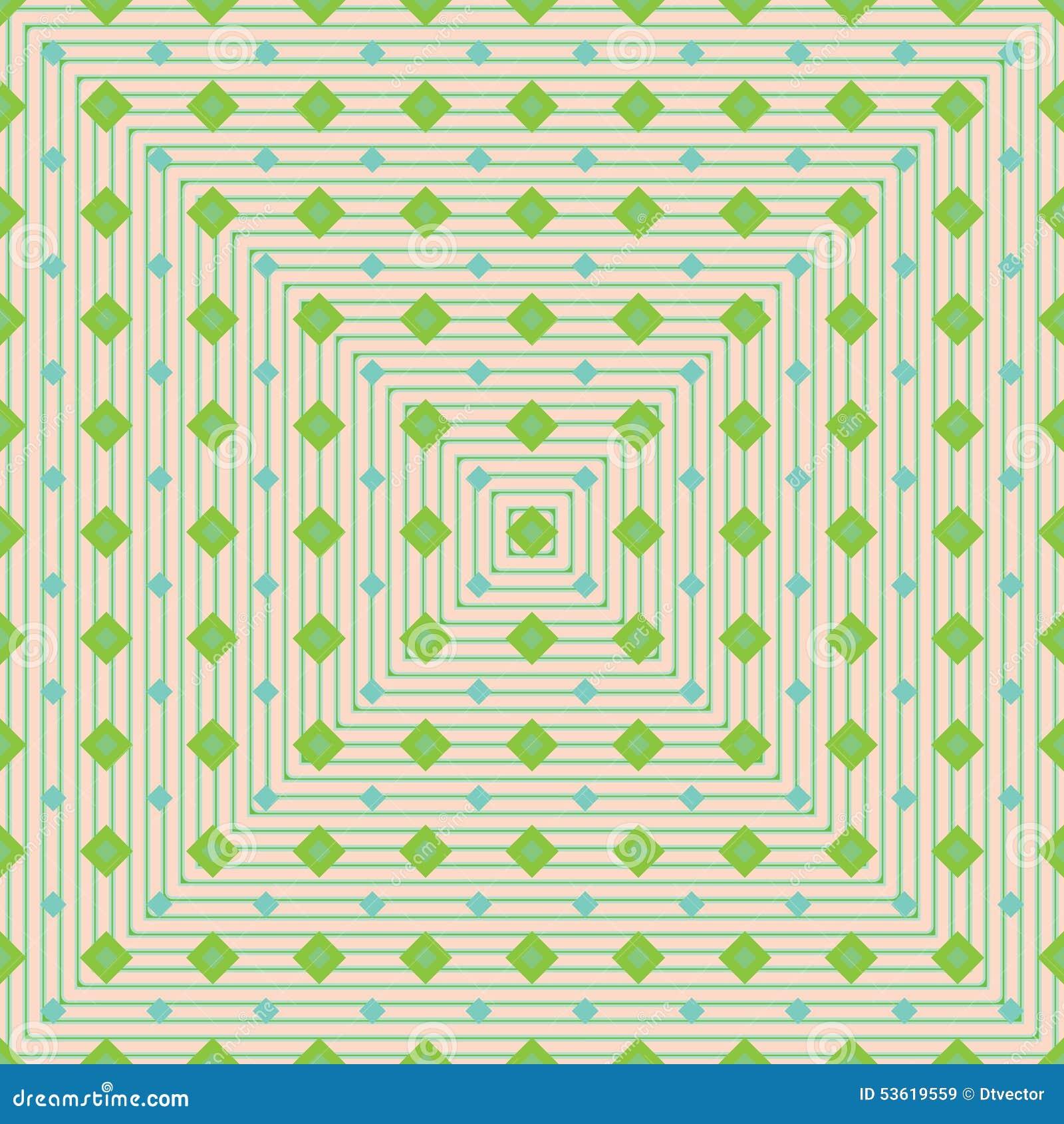 金刚石形状年轻绿色seamelss样式