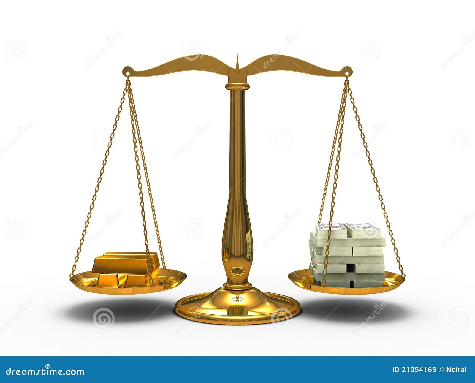 金和货币平衡