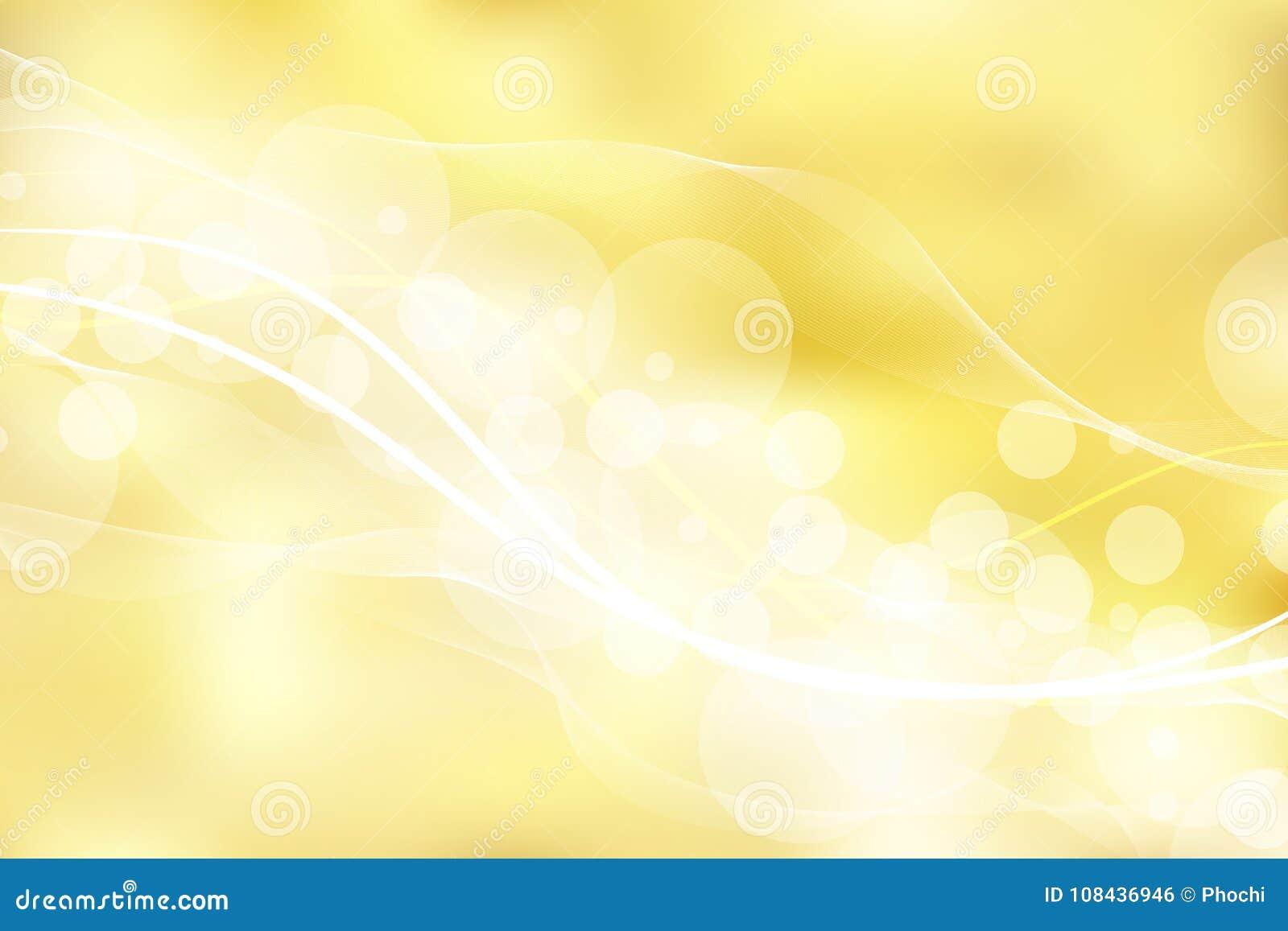 金子背景和纹理与bokeh弯曲线光 Elegan