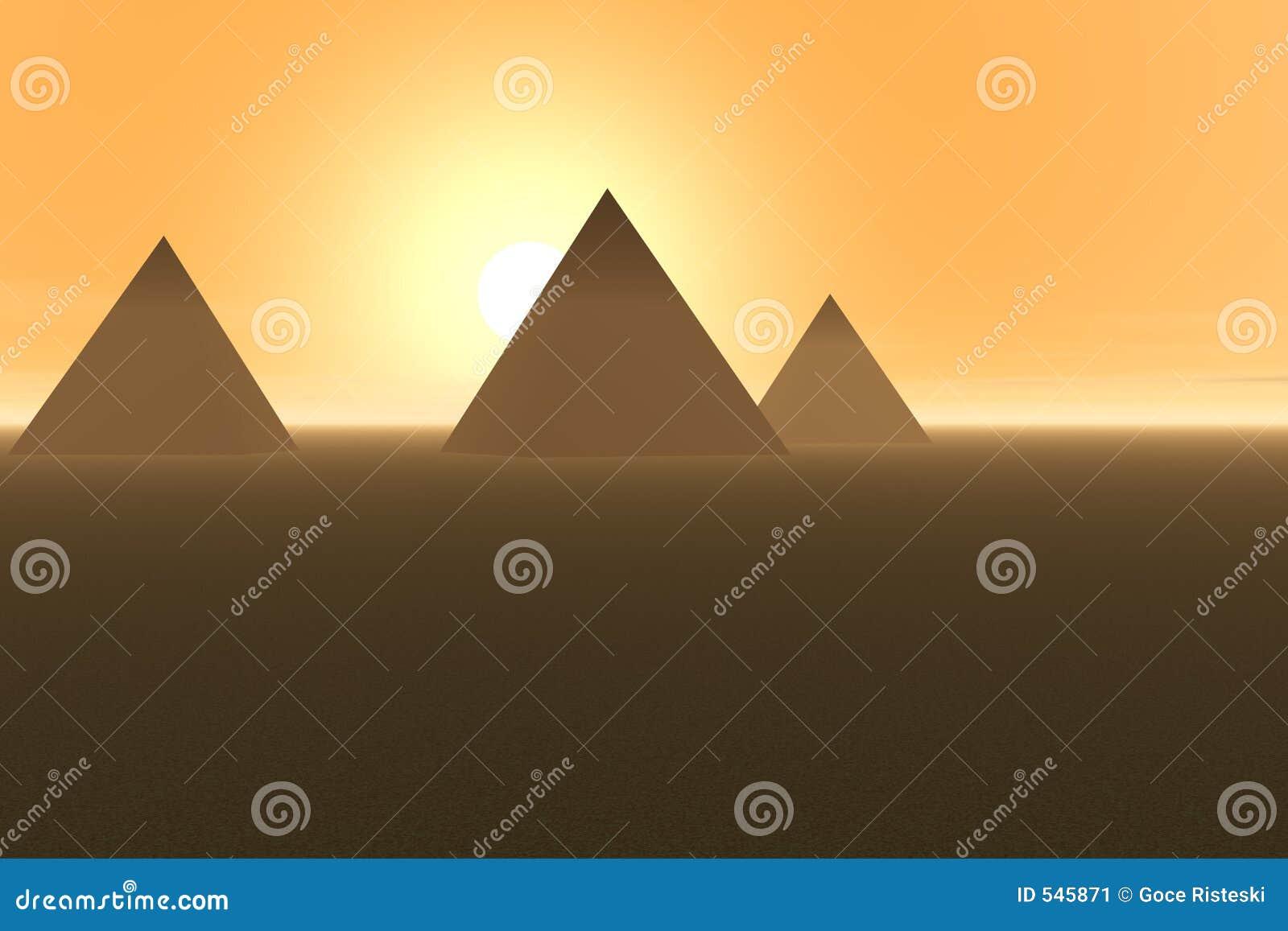 Download 金字塔 库存例证. 插画 包括有 历史记录, 沙漠, 镇痛药, 埃及, 沙子, 晒裂, 展望期, 微明, 日落 - 545871