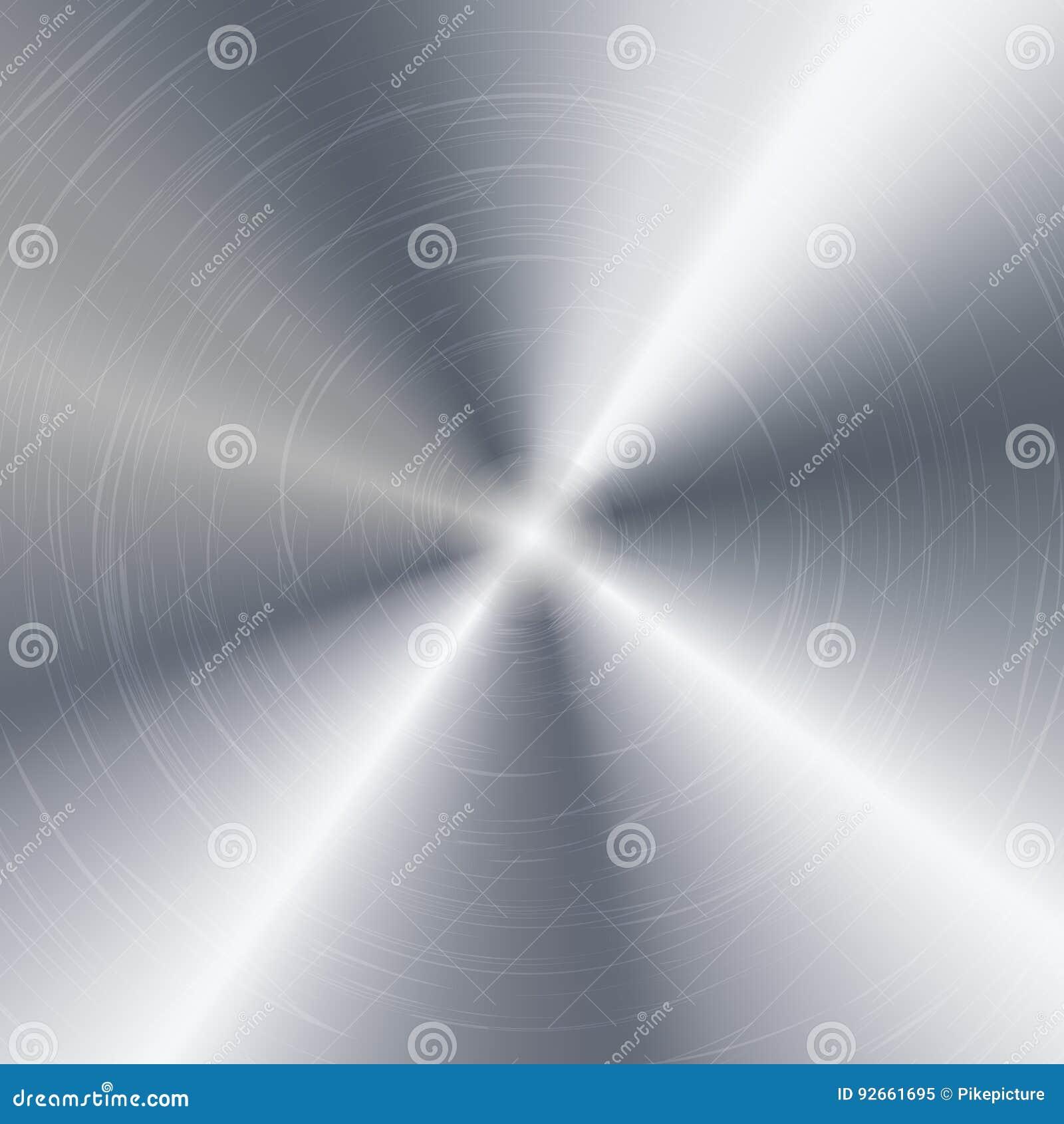 金属抽象技术背景 优美,掠过的纹理 镀铬物,银,钢,铝 也corel凹道例证向量