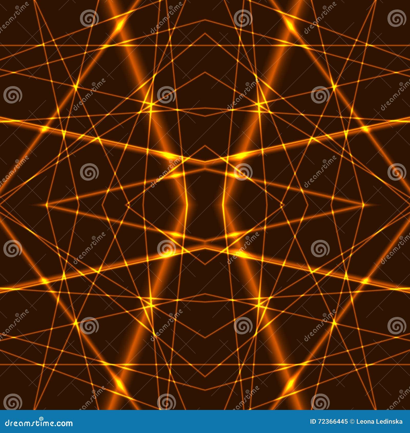 金激光束无缝的背景