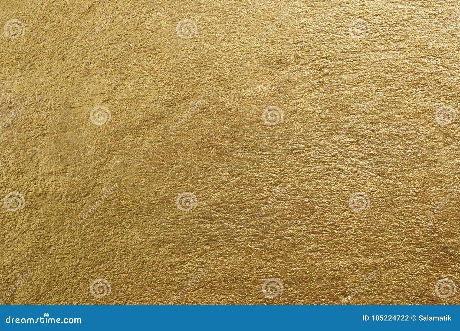 金箔纹理 金黄抽象的背景