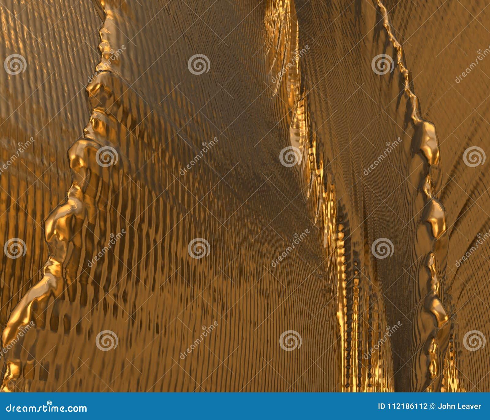 金纹理/背景