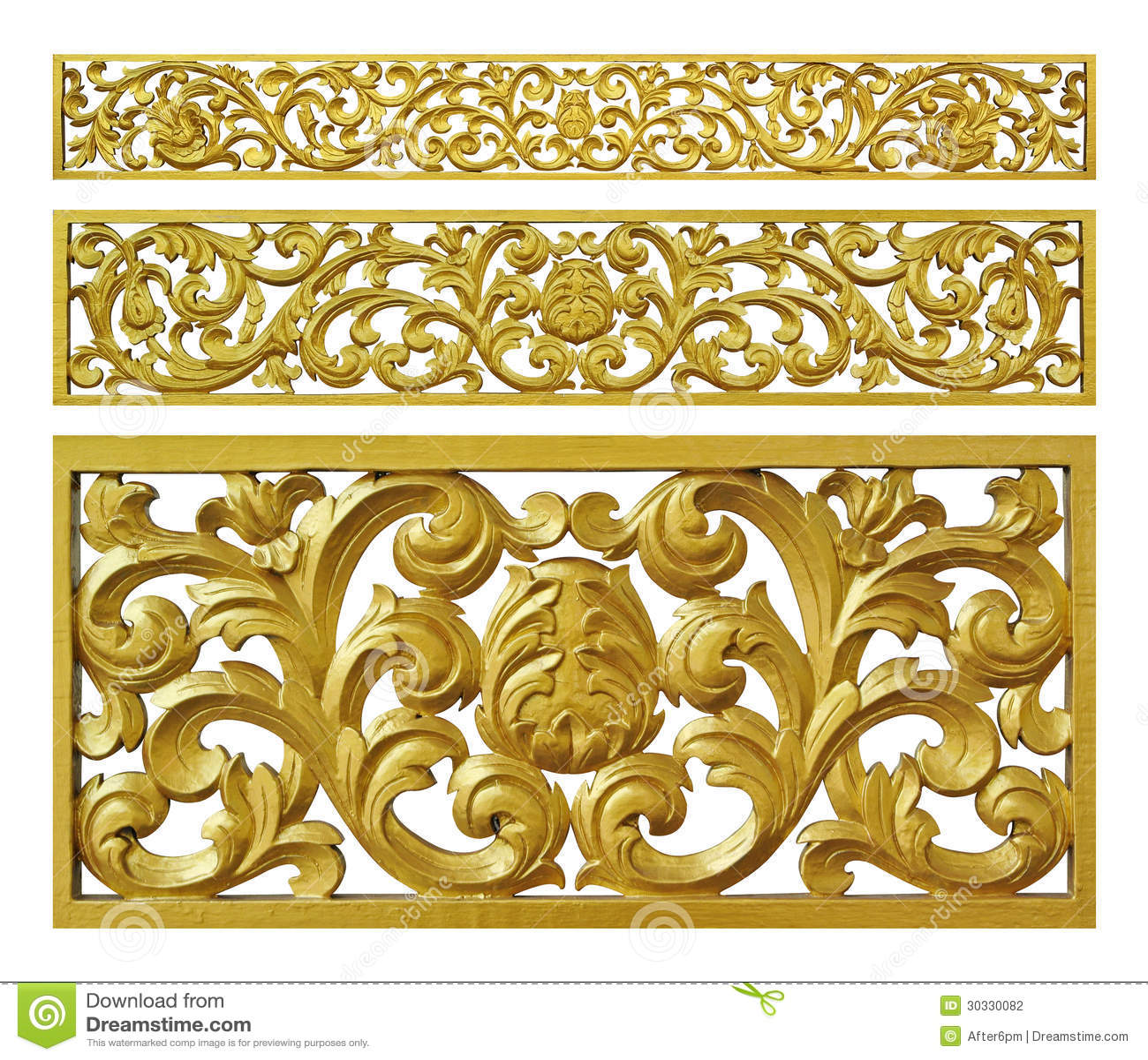 金花卉装饰铁