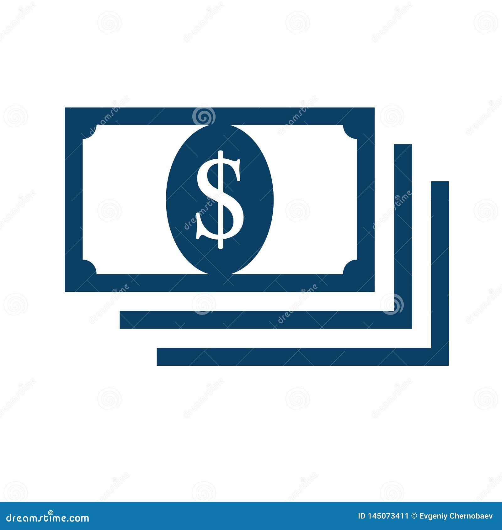 金钱平的样式象传染媒介eps10 钞票现金金钱 美元金钱现金象,收款机,现款支付,美元的符号