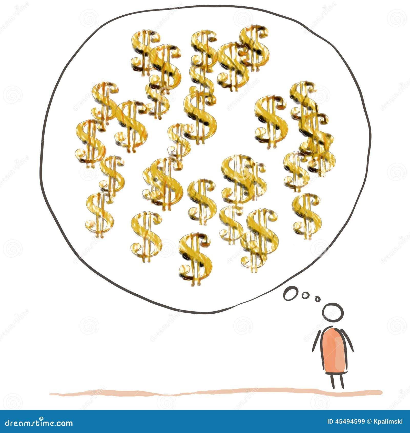 金钱想法的人漫画
