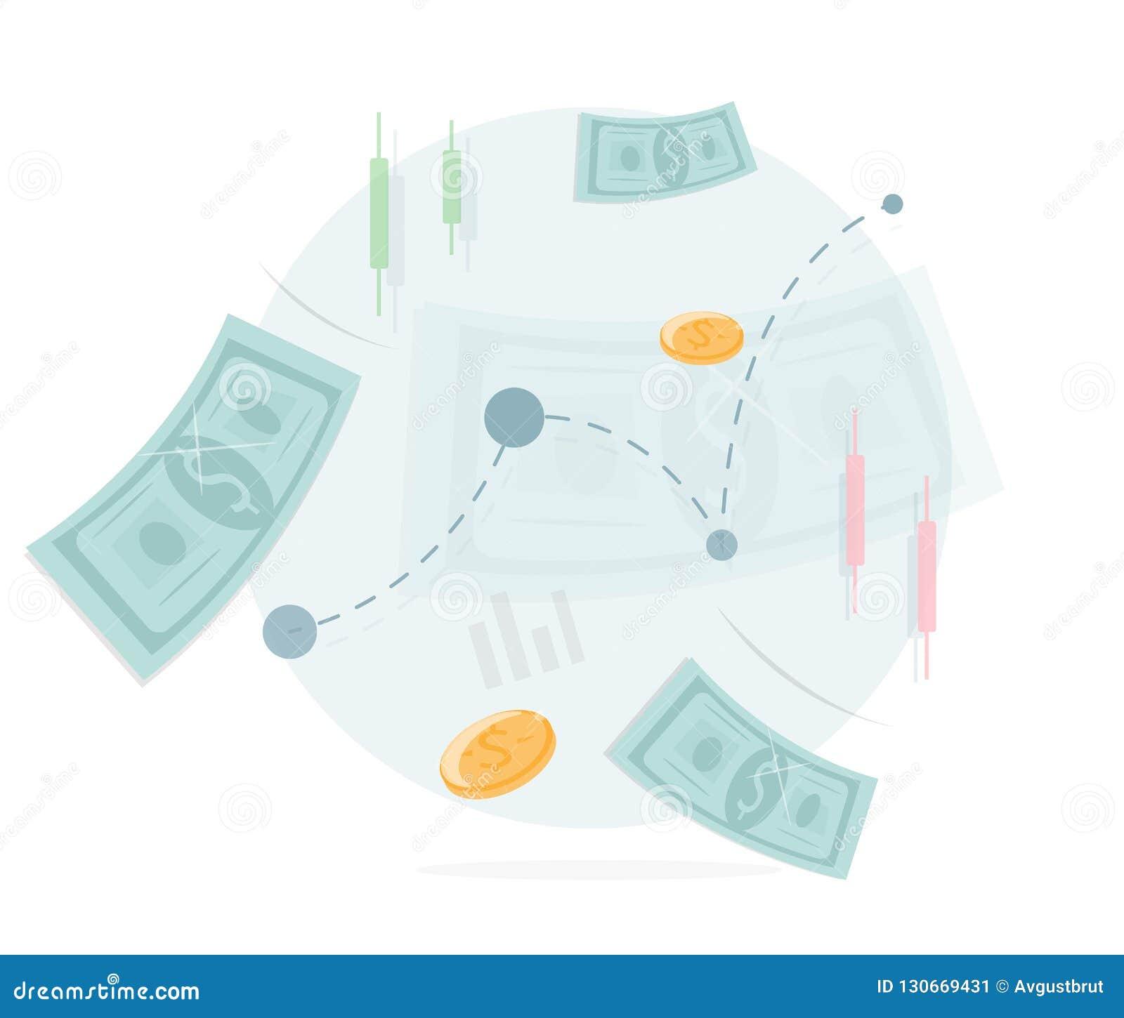 金钱象 交换和贸易