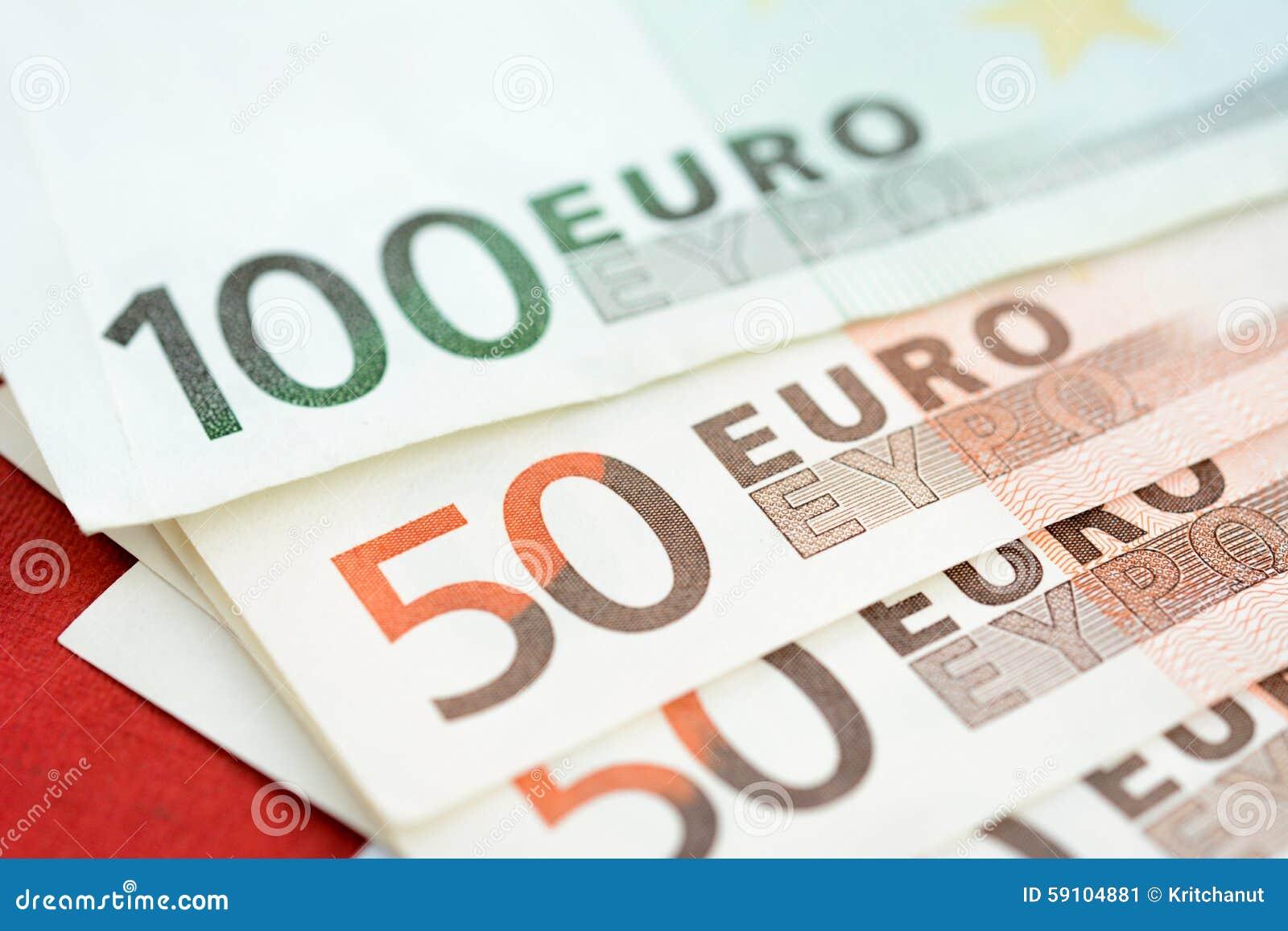 金钱,欧洲货币(EUR),票据