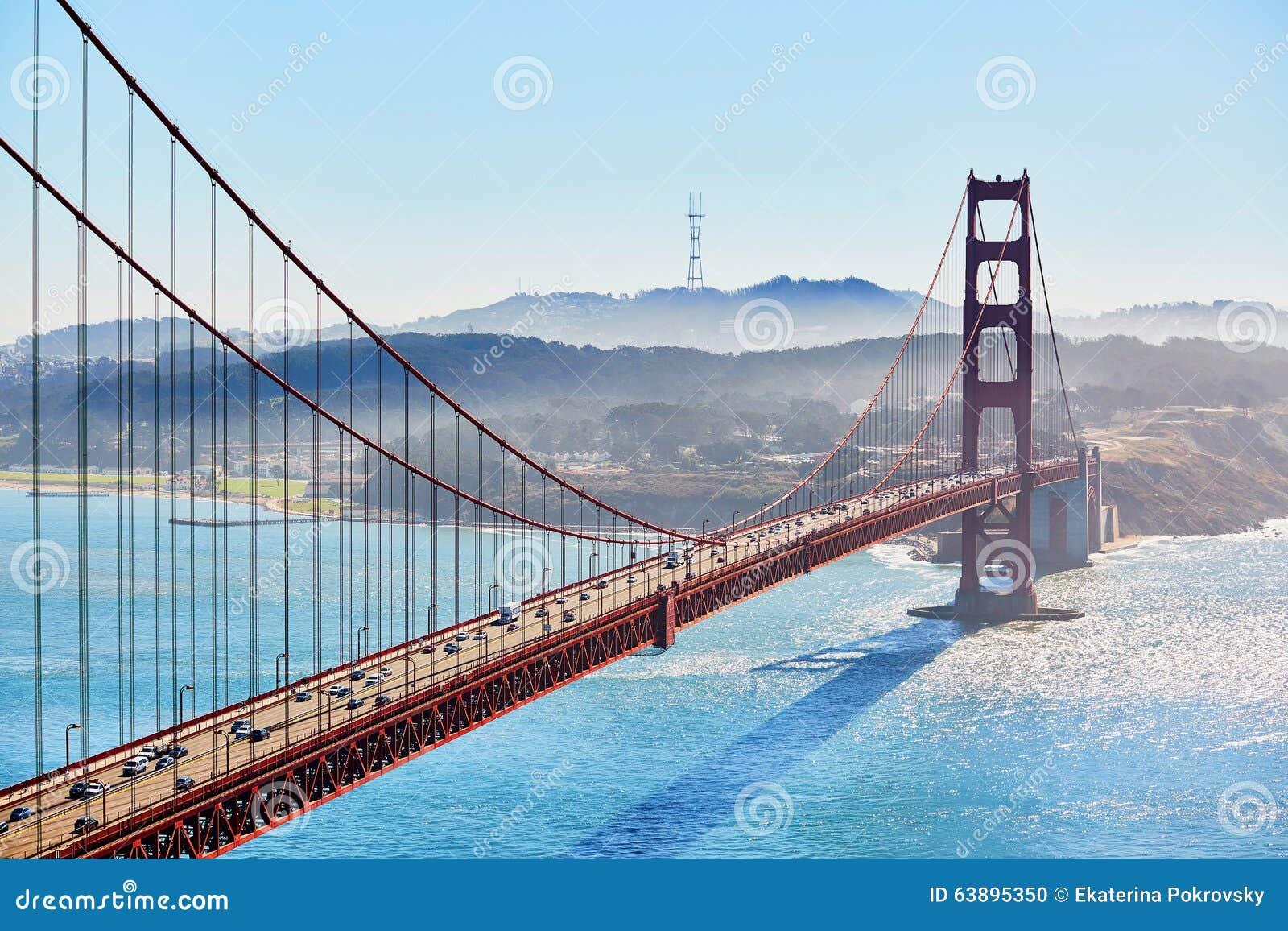 Download 金门大桥在旧金山,加利福尼亚,美国 库存照片. 图片 包括有 红色, 吸引力, 海洋, 夏天, 贿赂, 云彩 - 63895350