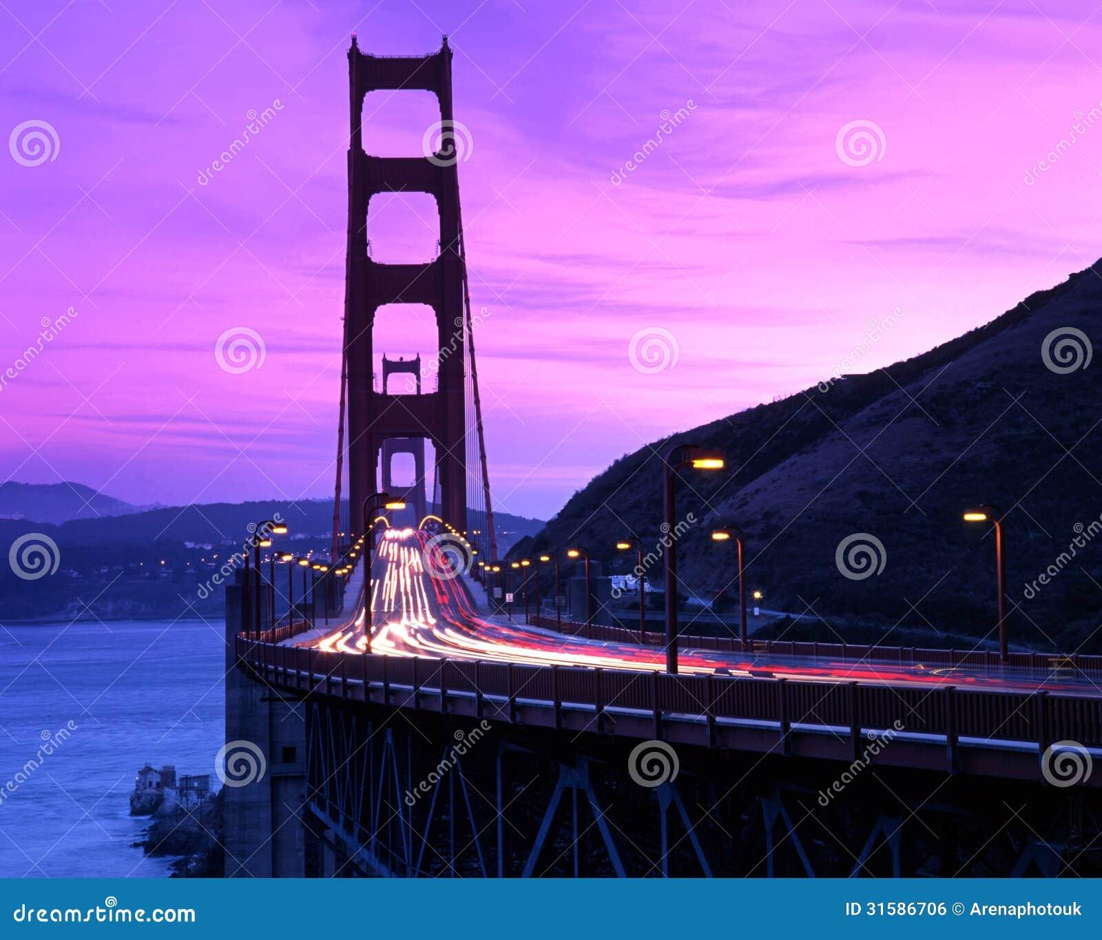 金门桥,旧金山,美国。