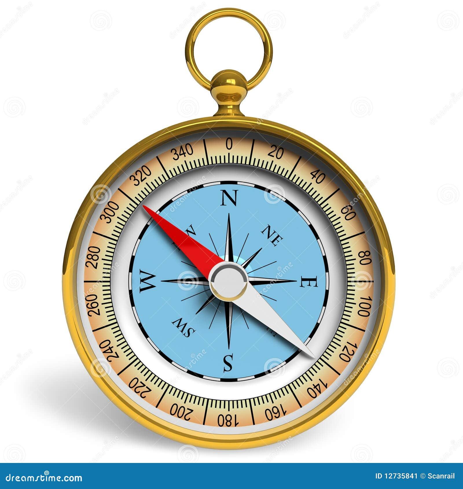 金黄的指南针