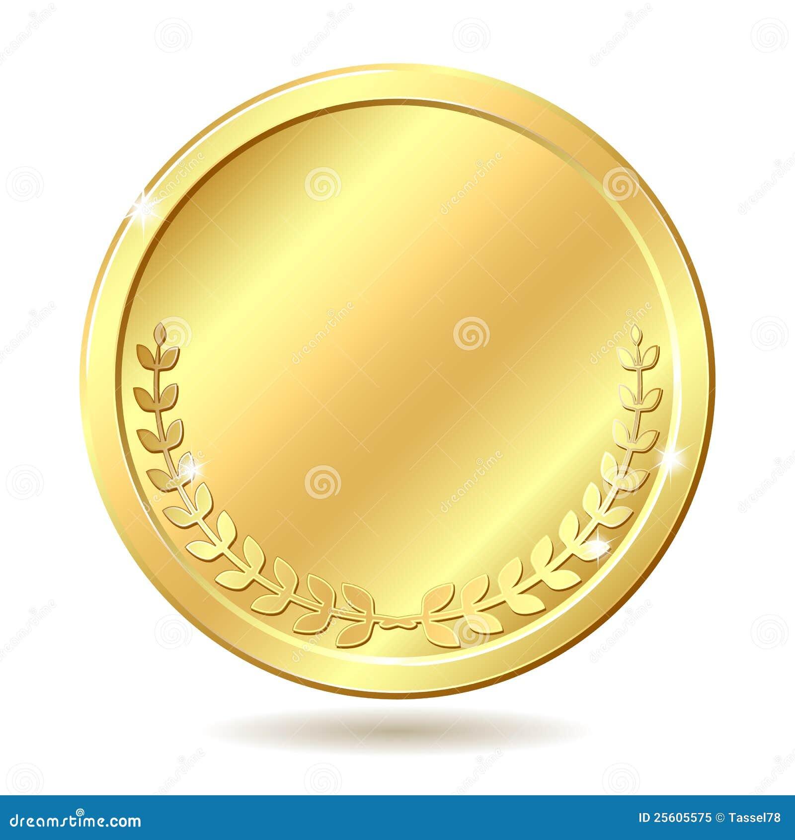 金黄的硬币
