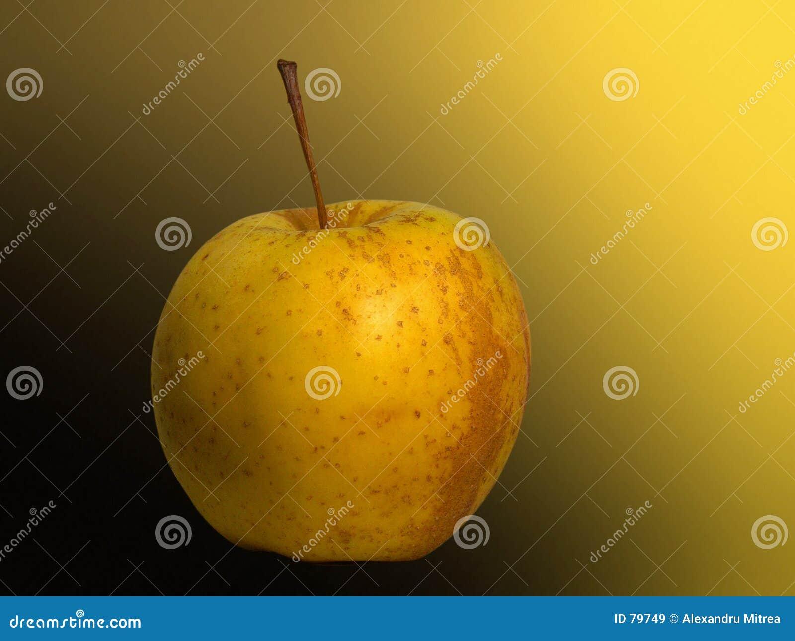 金黄的苹果