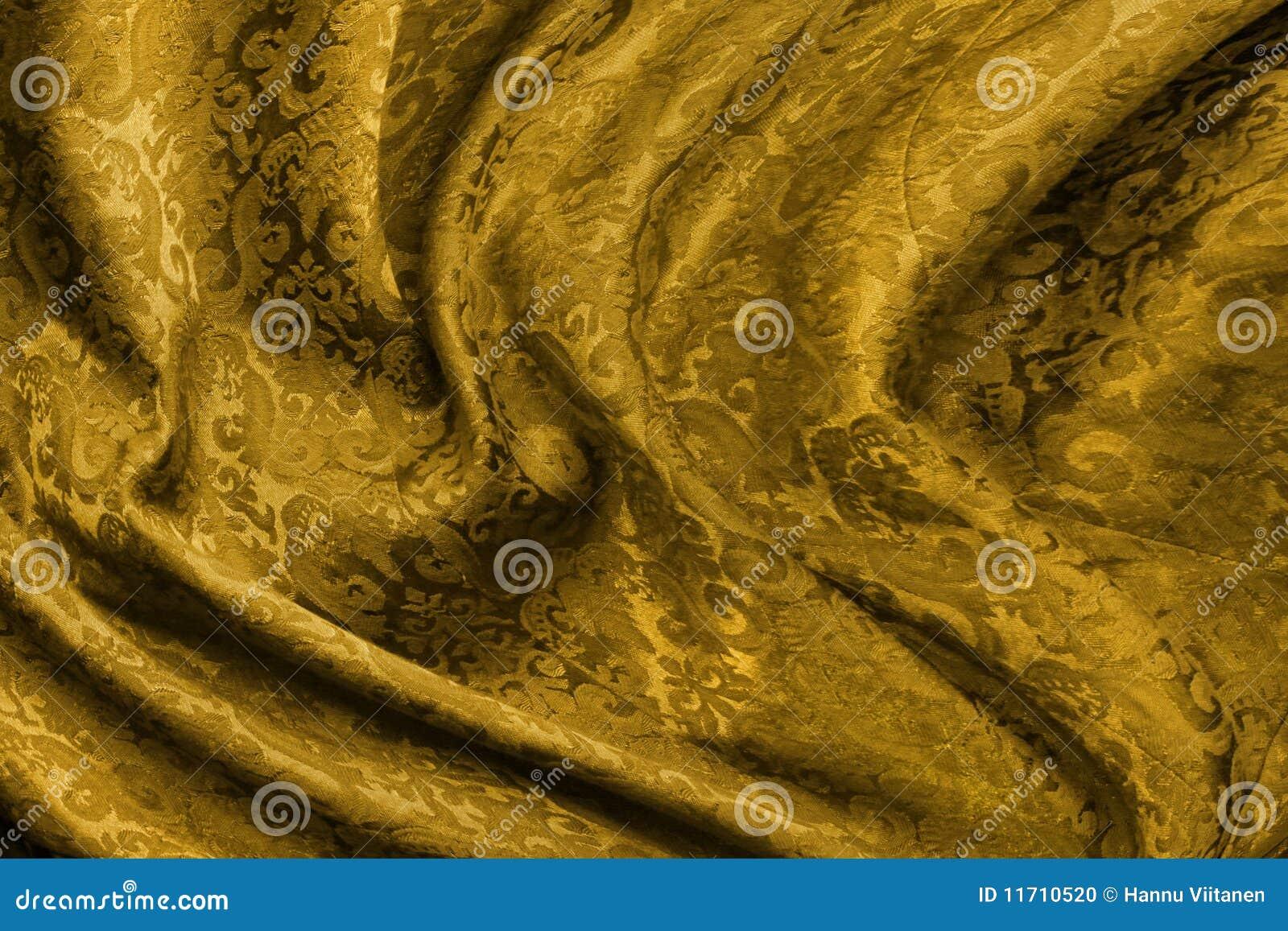 金黄锦的织品